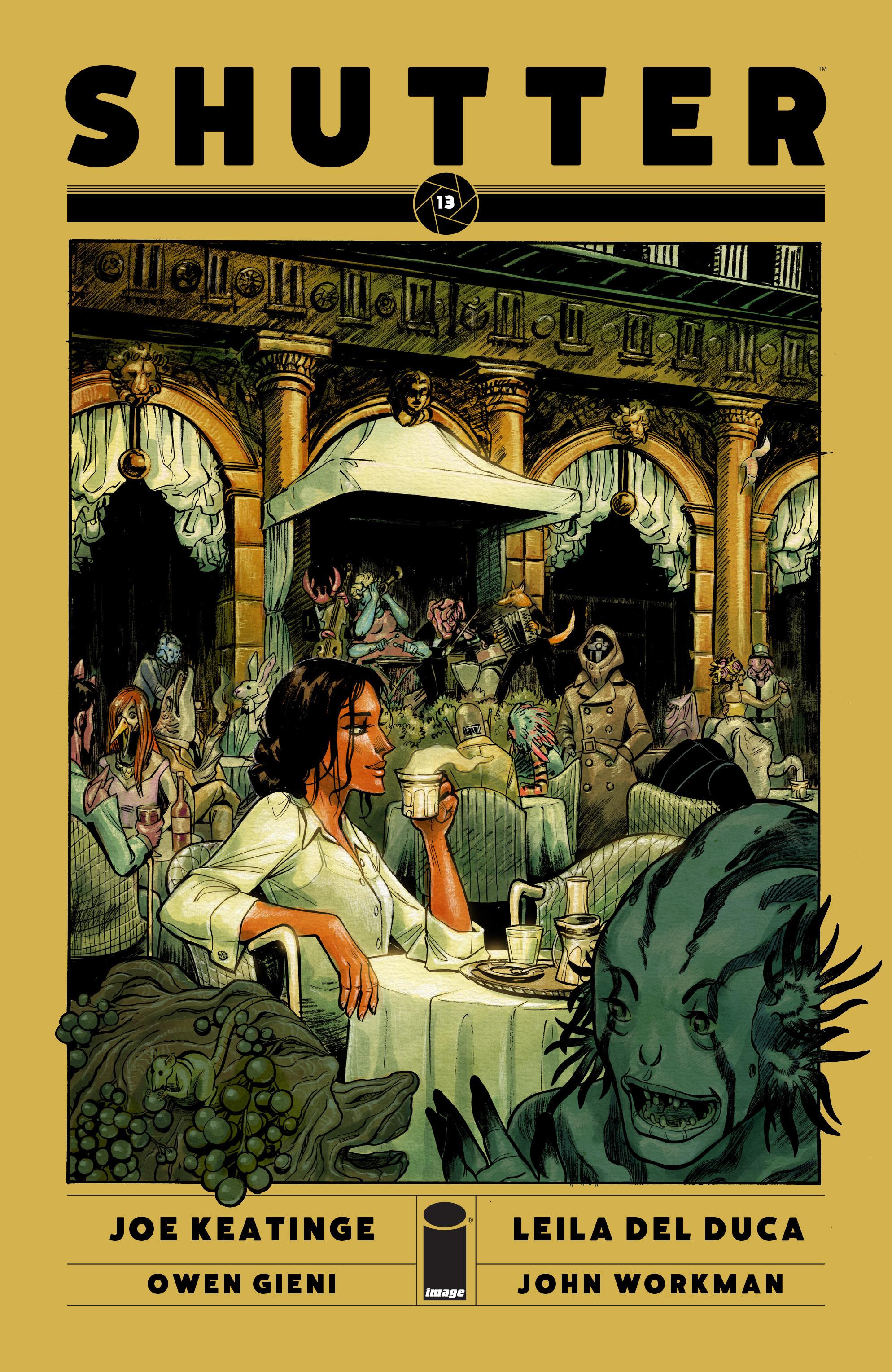 Read online Shutter comic -  Issue #13 - 1