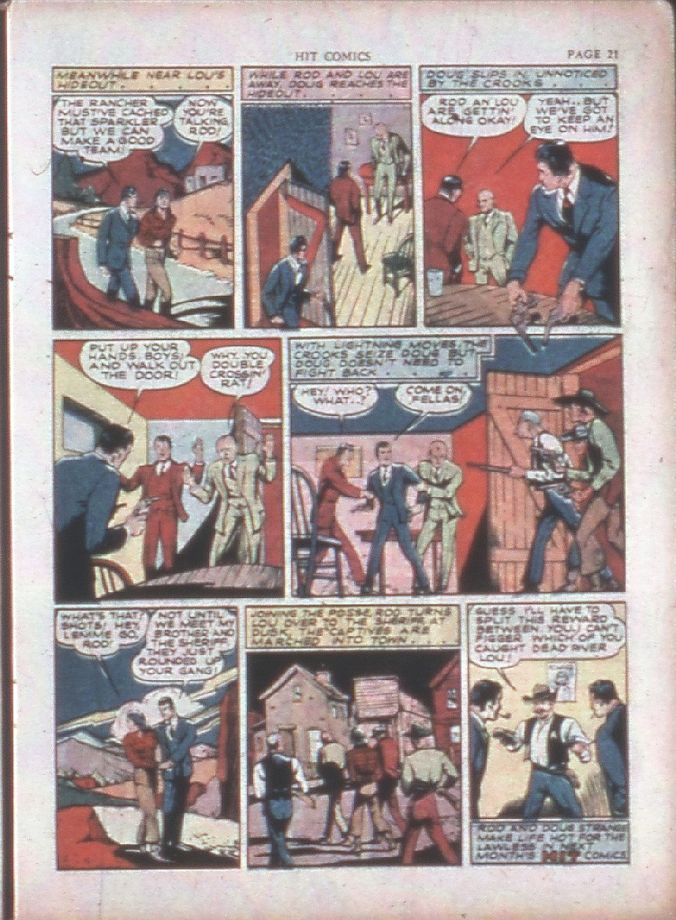 Read online Hit Comics comic -  Issue #15 - 23