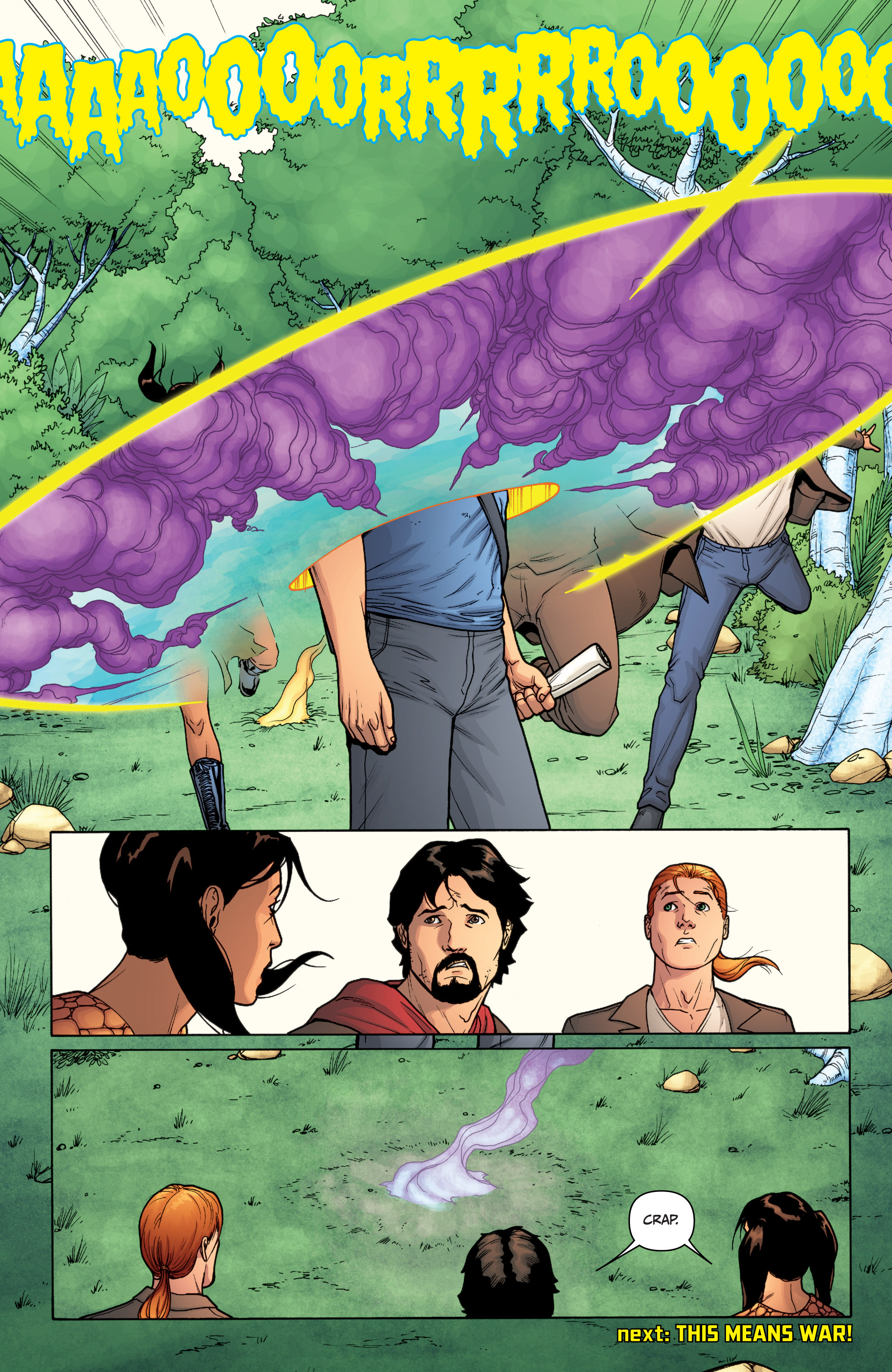 Read online Archer and Armstrong comic -  Issue #Archer and Armstrong _TPB 3 - 117