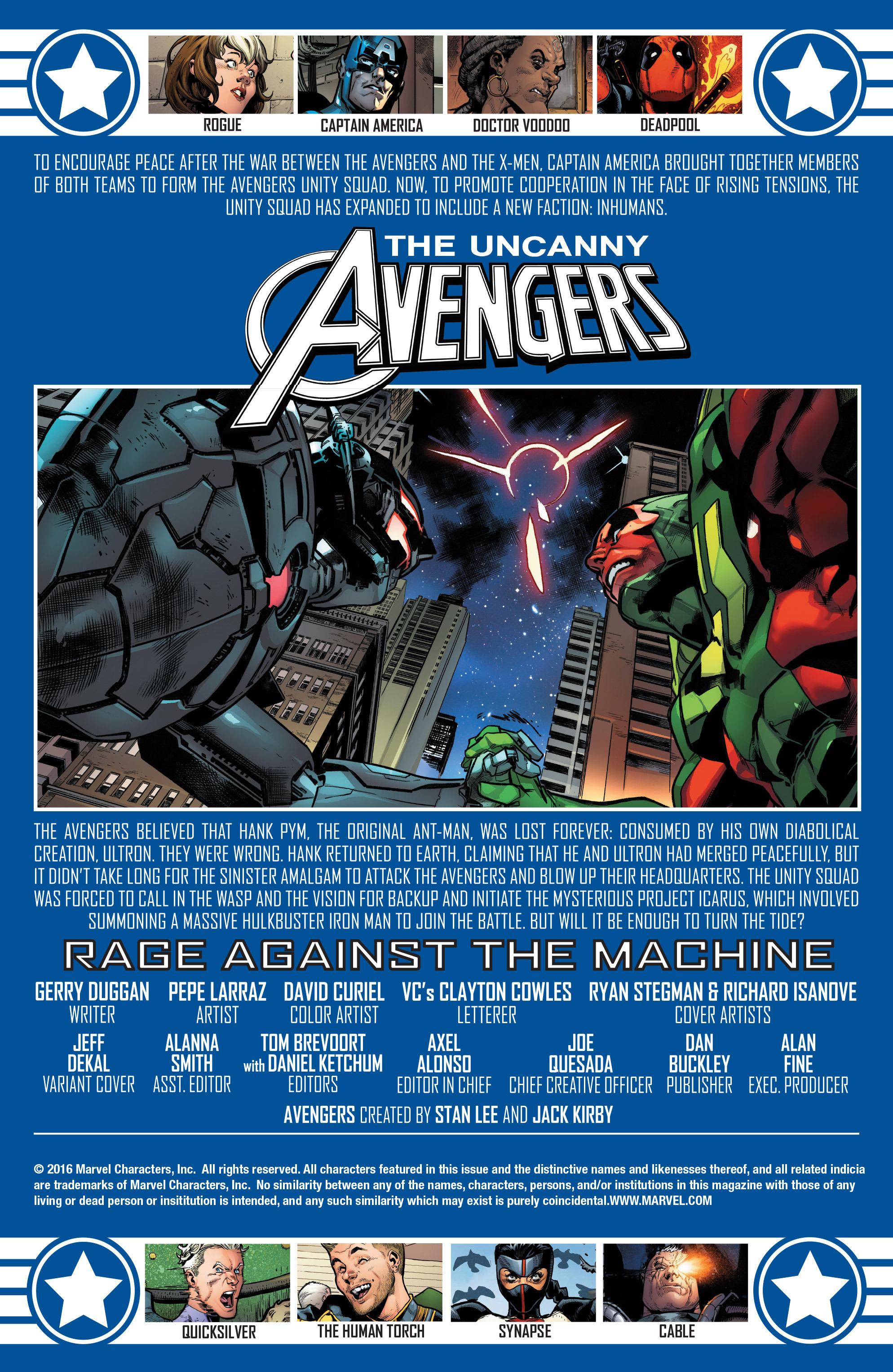 Read online Uncanny Avengers [II] comic -  Issue #12 - 2