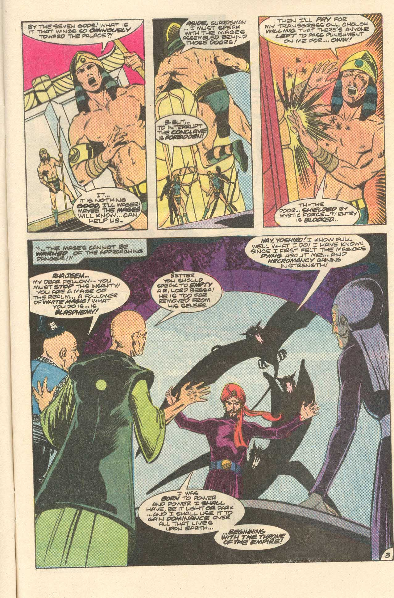 Read online Arion, Lord of Atlantis comic -  Issue #35 - 4