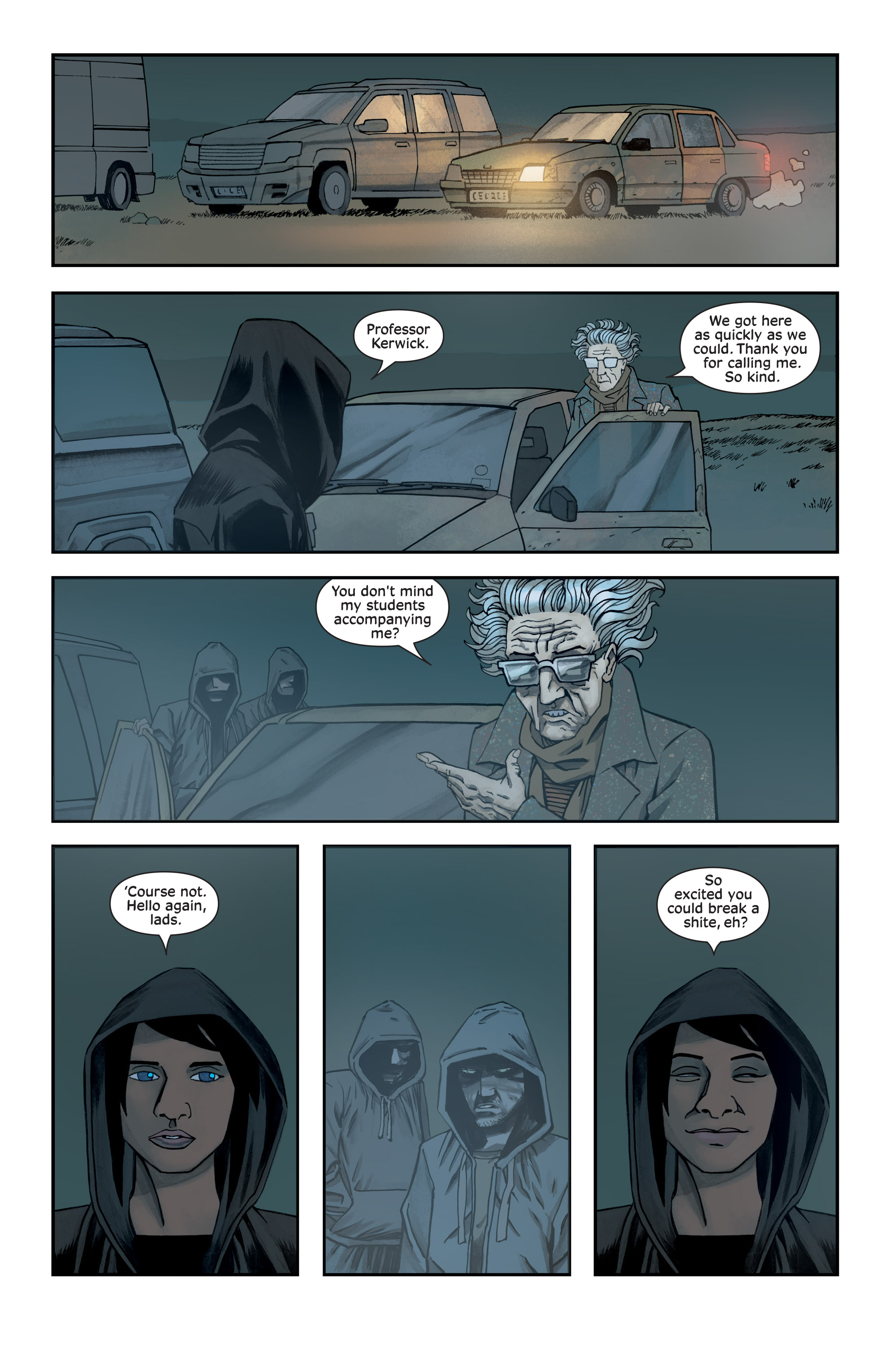 Read online Injection comic -  Issue #13 - 5
