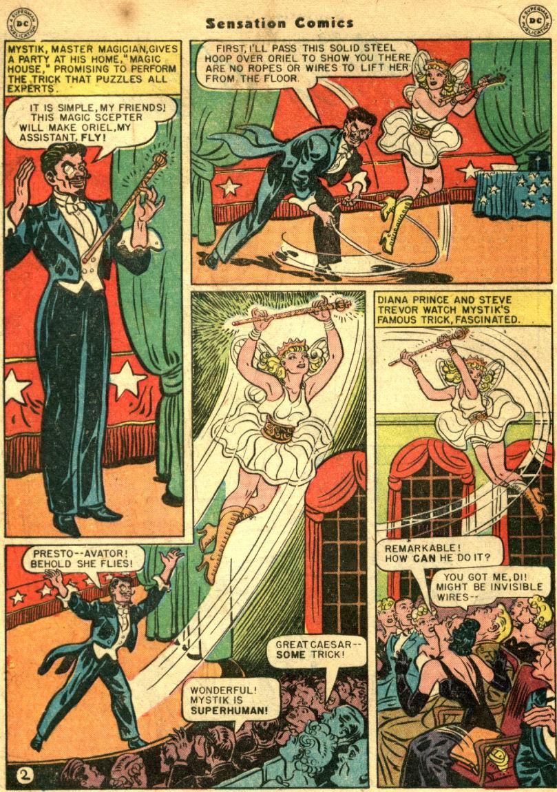 Read online Sensation (Mystery) Comics comic -  Issue #69 - 6