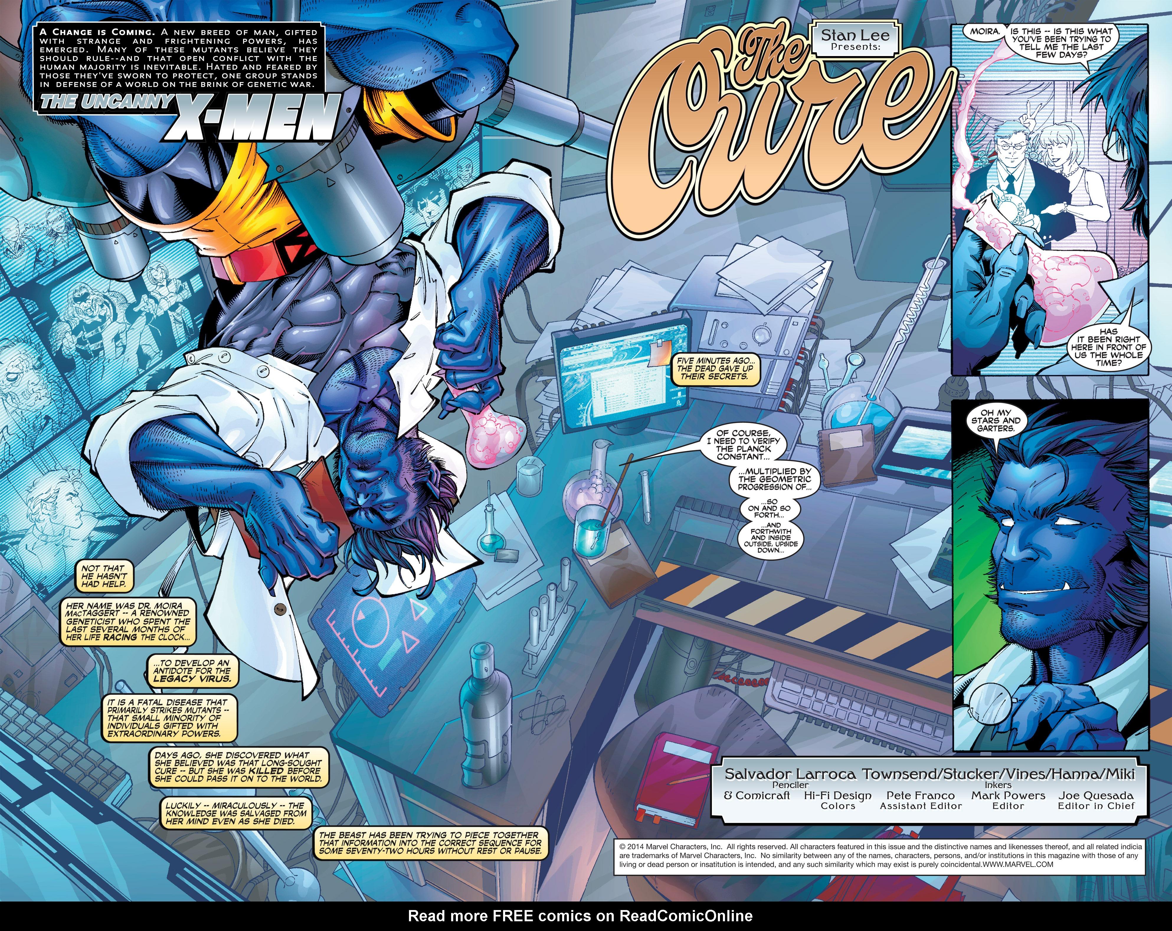 Read online Uncanny X-Men (1963) comic -  Issue #390 - 3