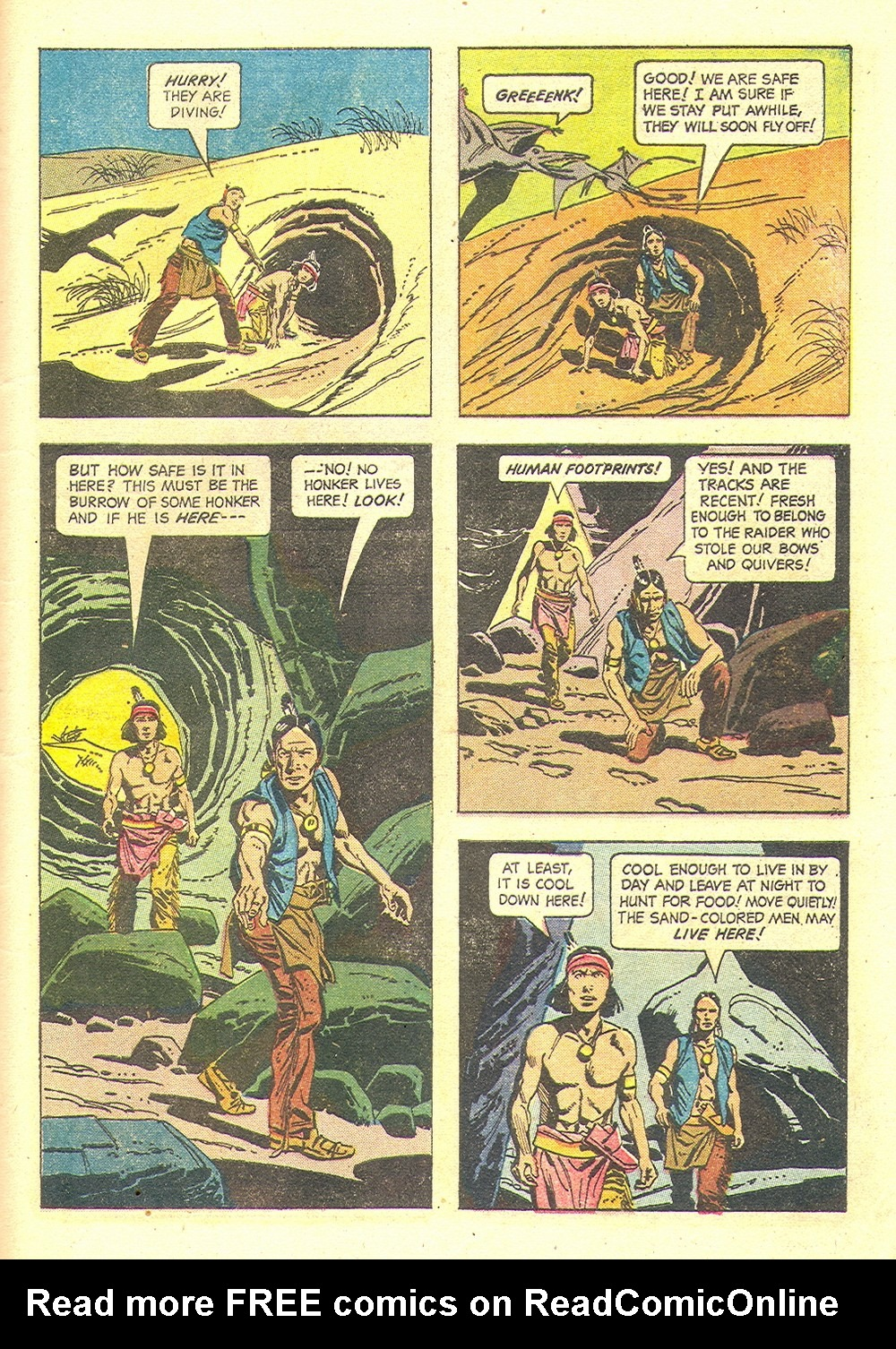 Read online Turok, Son of Stone comic -  Issue #35 - 29