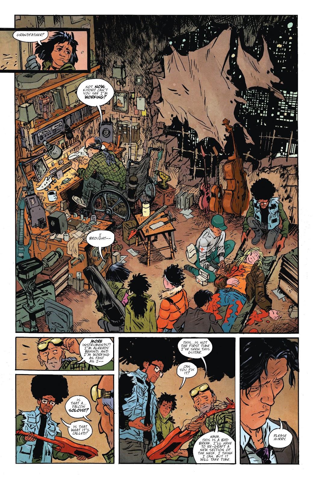 Read online Murder Falcon comic -  Issue #7 - 10