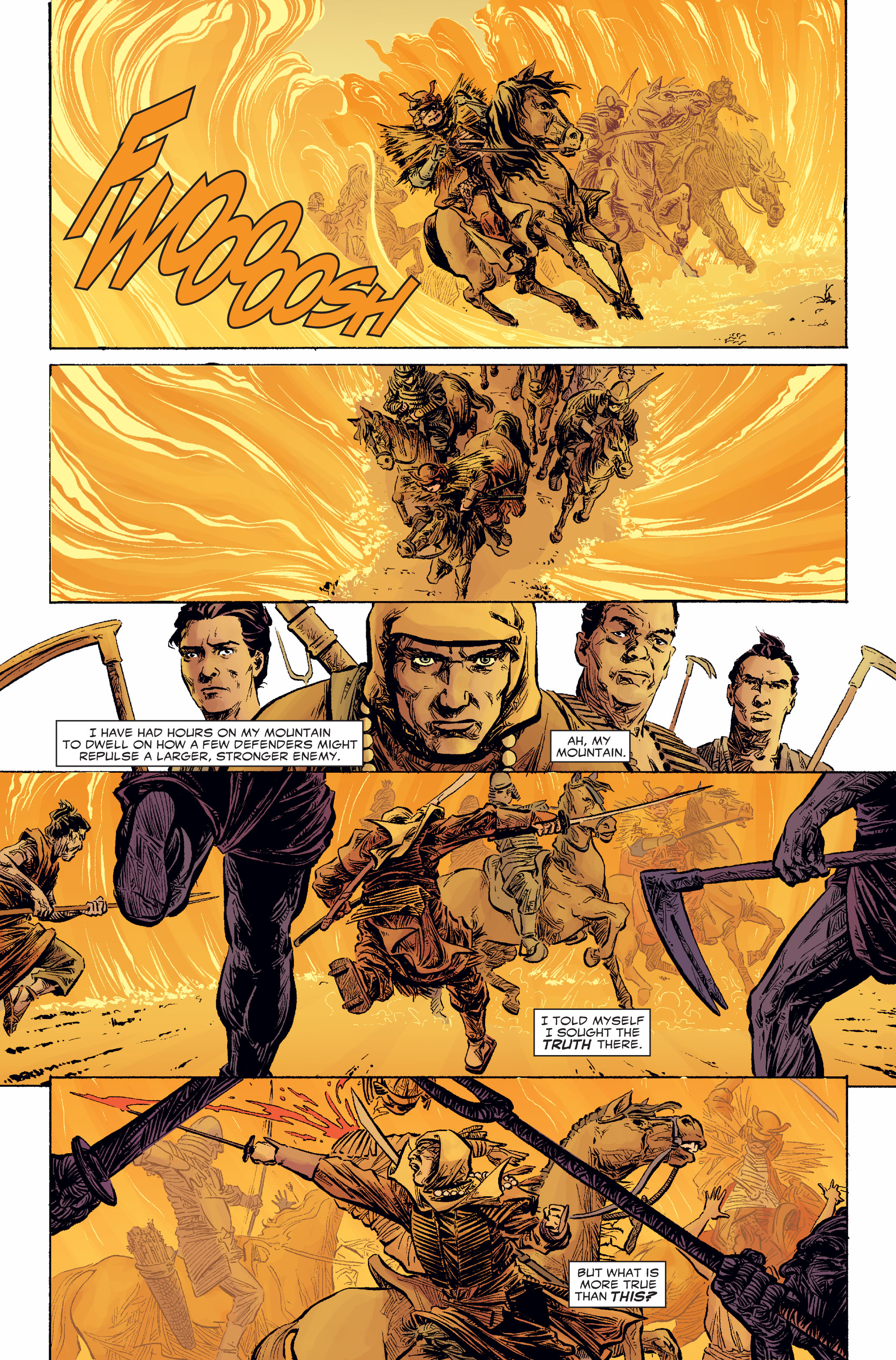 Read online 5 Ronin (2011) comic -  Issue #2 - 16