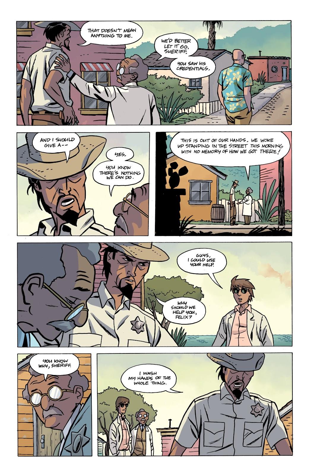 Read online The Twilight Children comic -  Issue #4 - 7