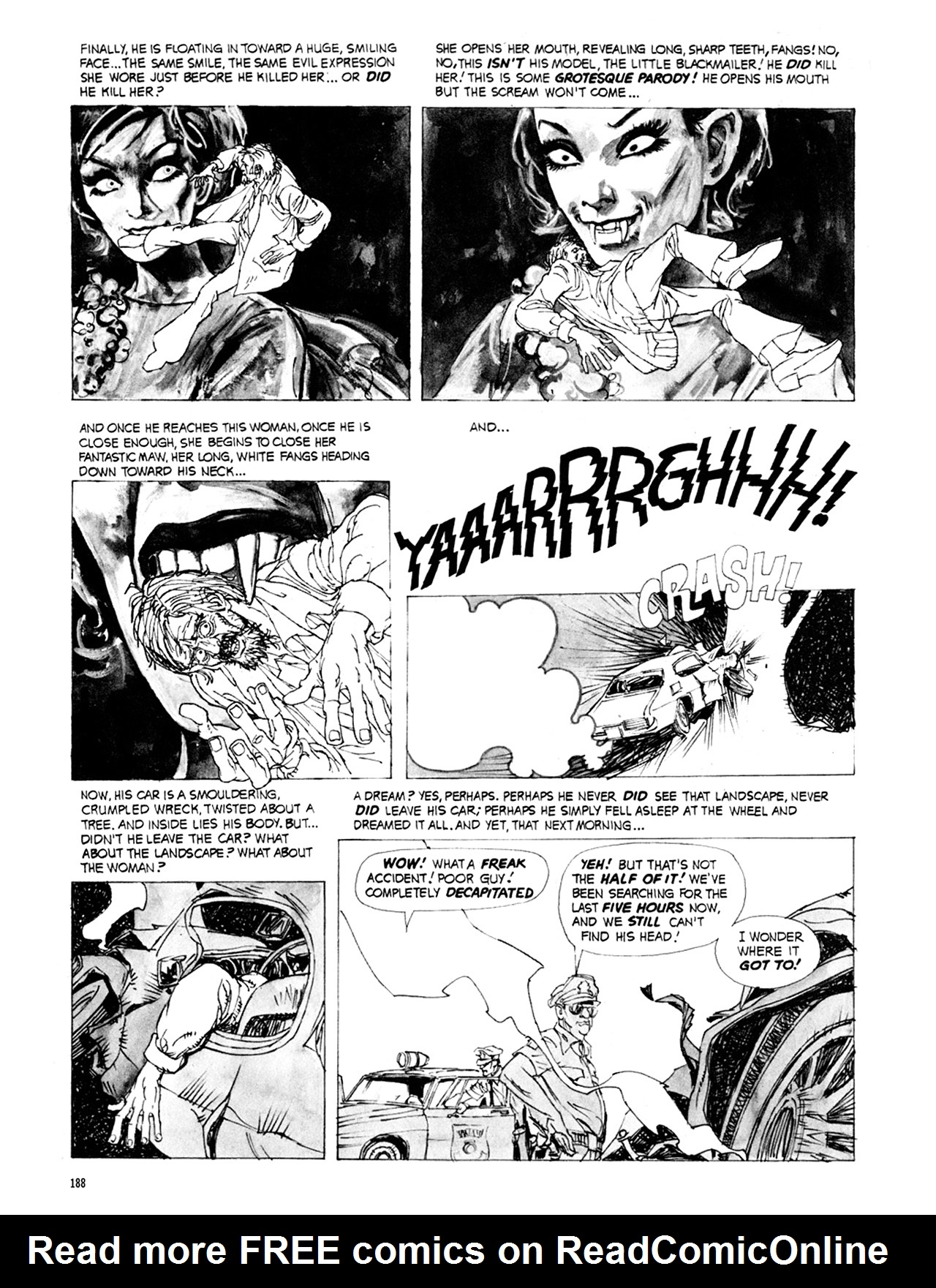 Read online Eerie Archives comic -  Issue # TPB 9 - 189