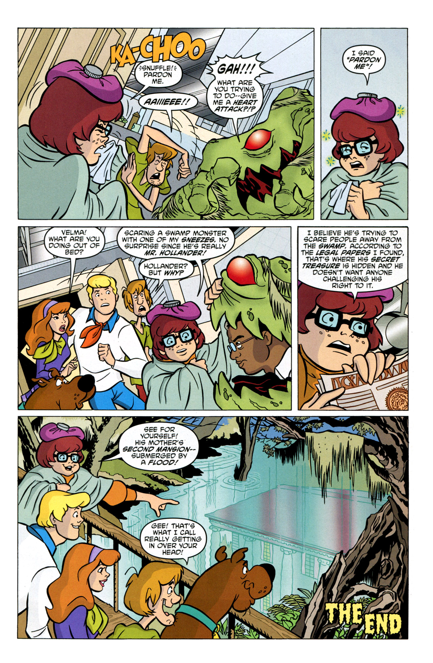 Read online Scooby-Doo: Where Are You? comic -  Issue #17 - 33