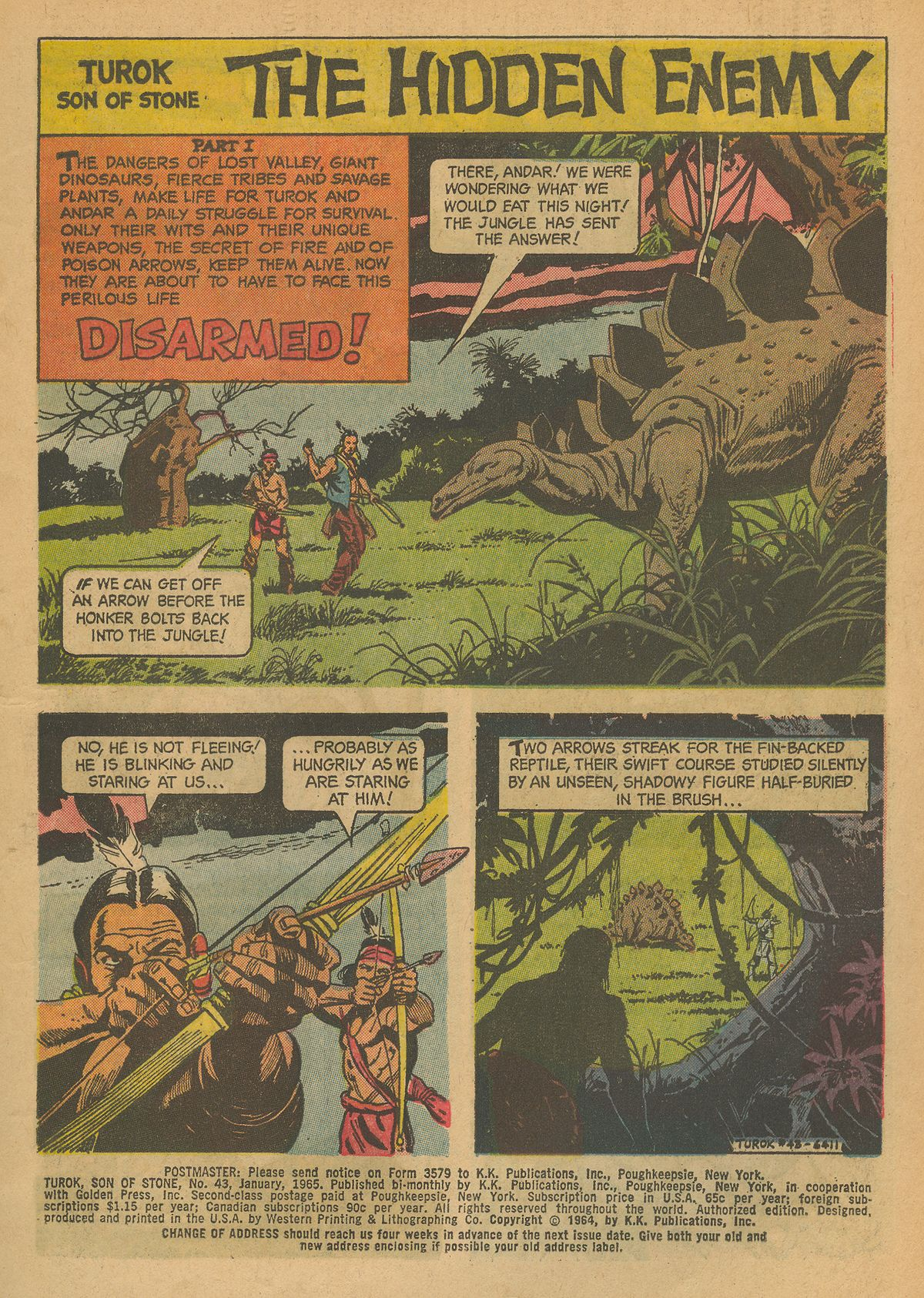 Read online Turok, Son of Stone comic -  Issue #43 - 3