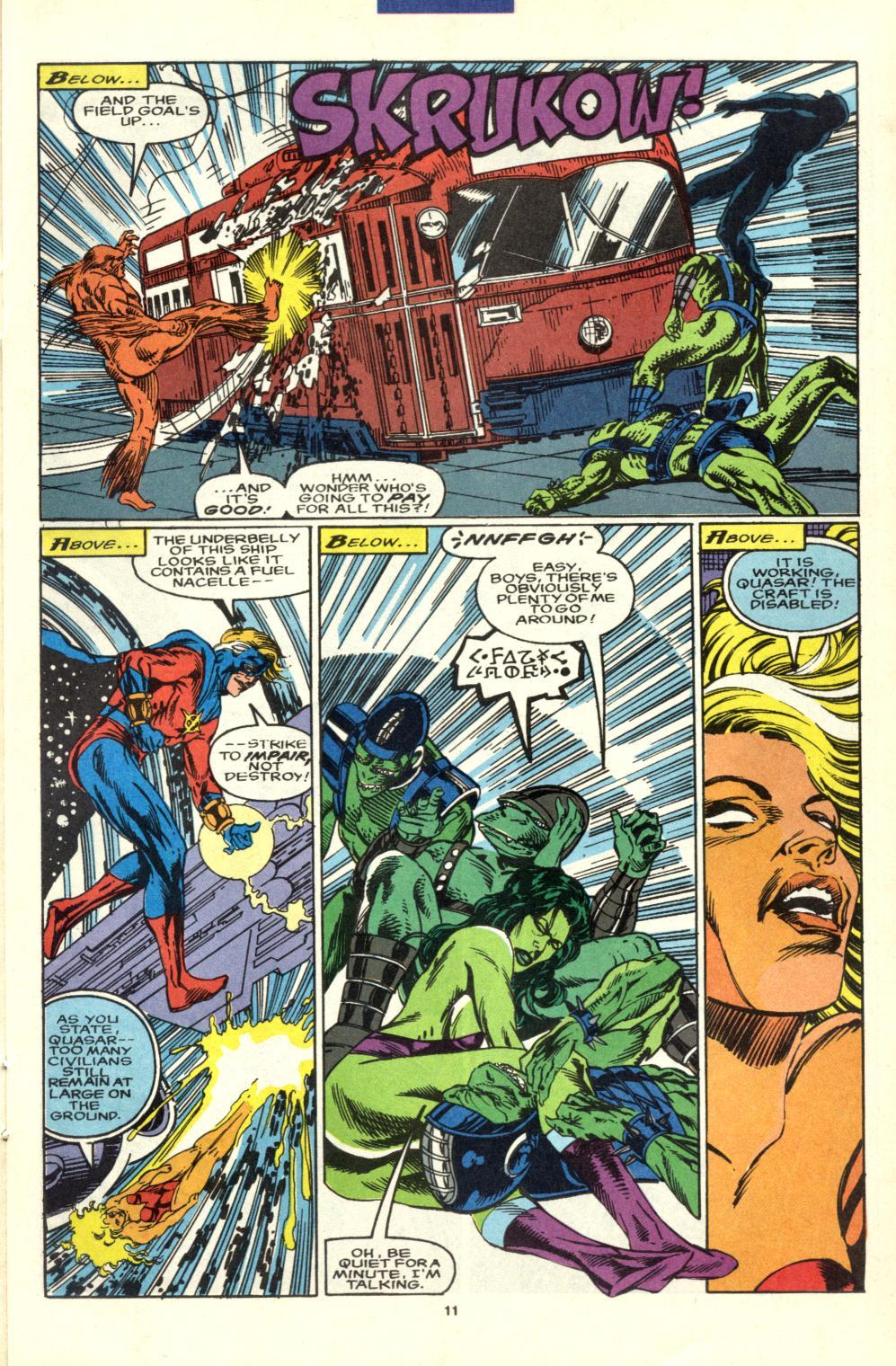 Read online Alpha Flight (1983) comic -  Issue #99 - 10
