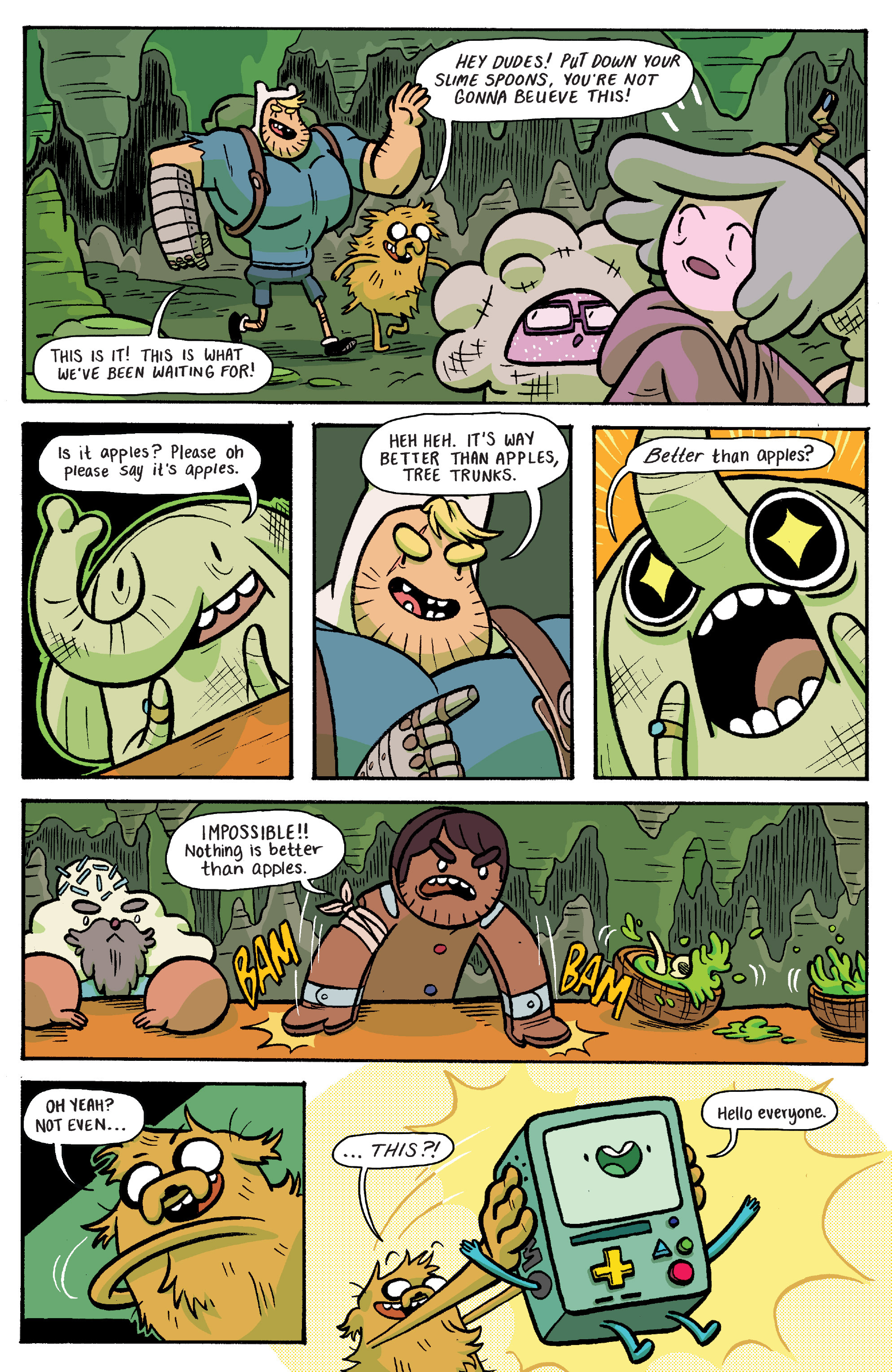 Read online Adventure Time: Banana Guard Academ comic -  Issue #6 - 5