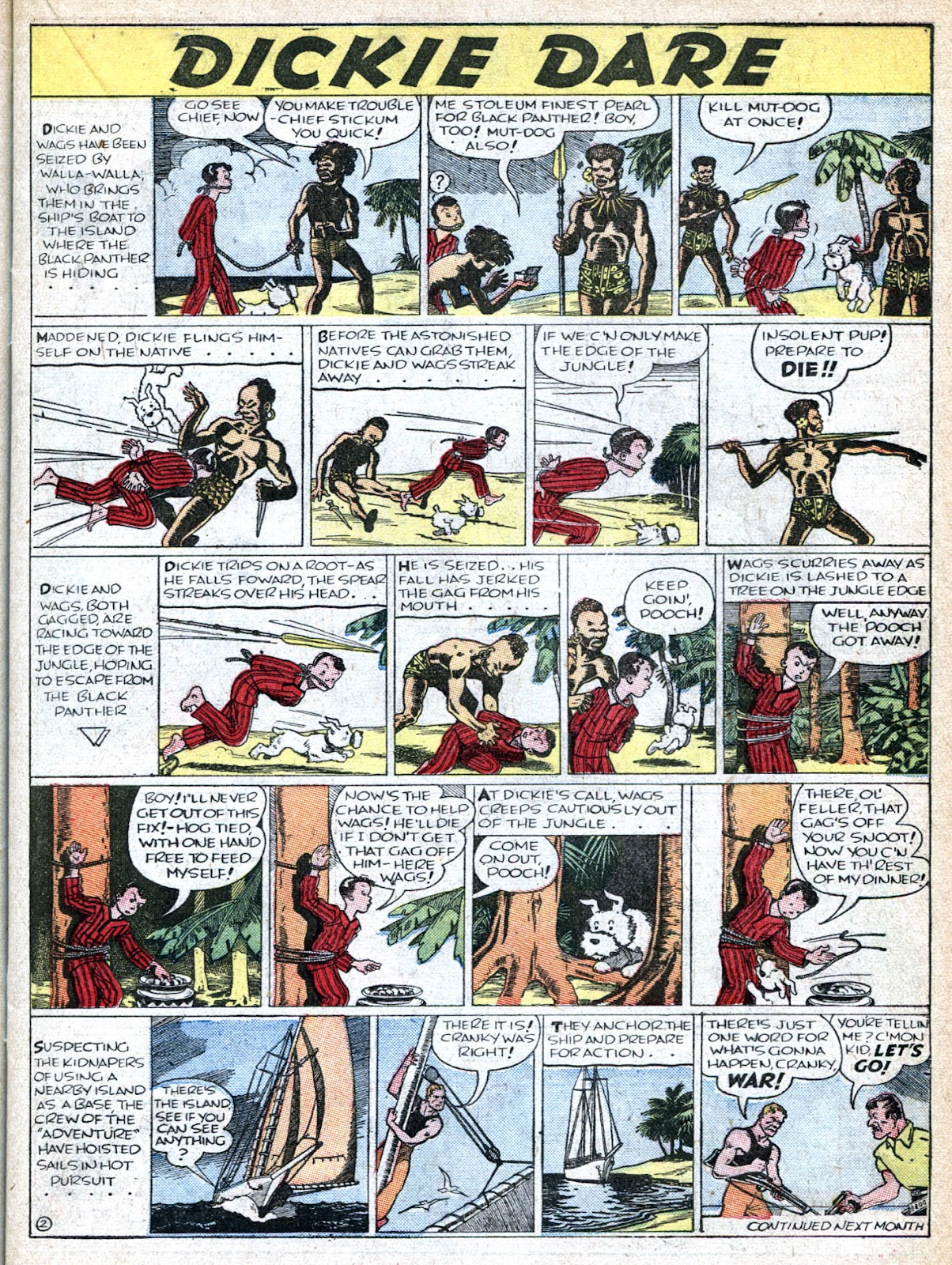 Read online Famous Funnies comic -  Issue #36 - 25