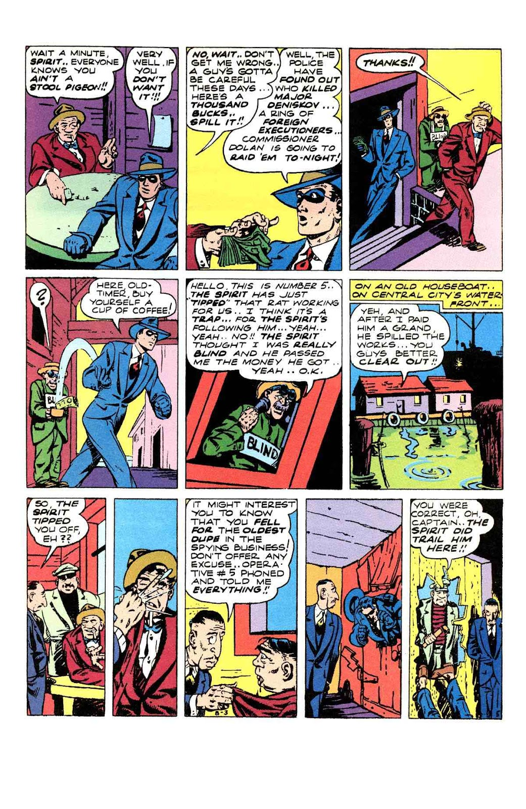 Read online Will Eisner's The Spirit Archives comic -  Issue # TPB 3 (Part 1) - 38