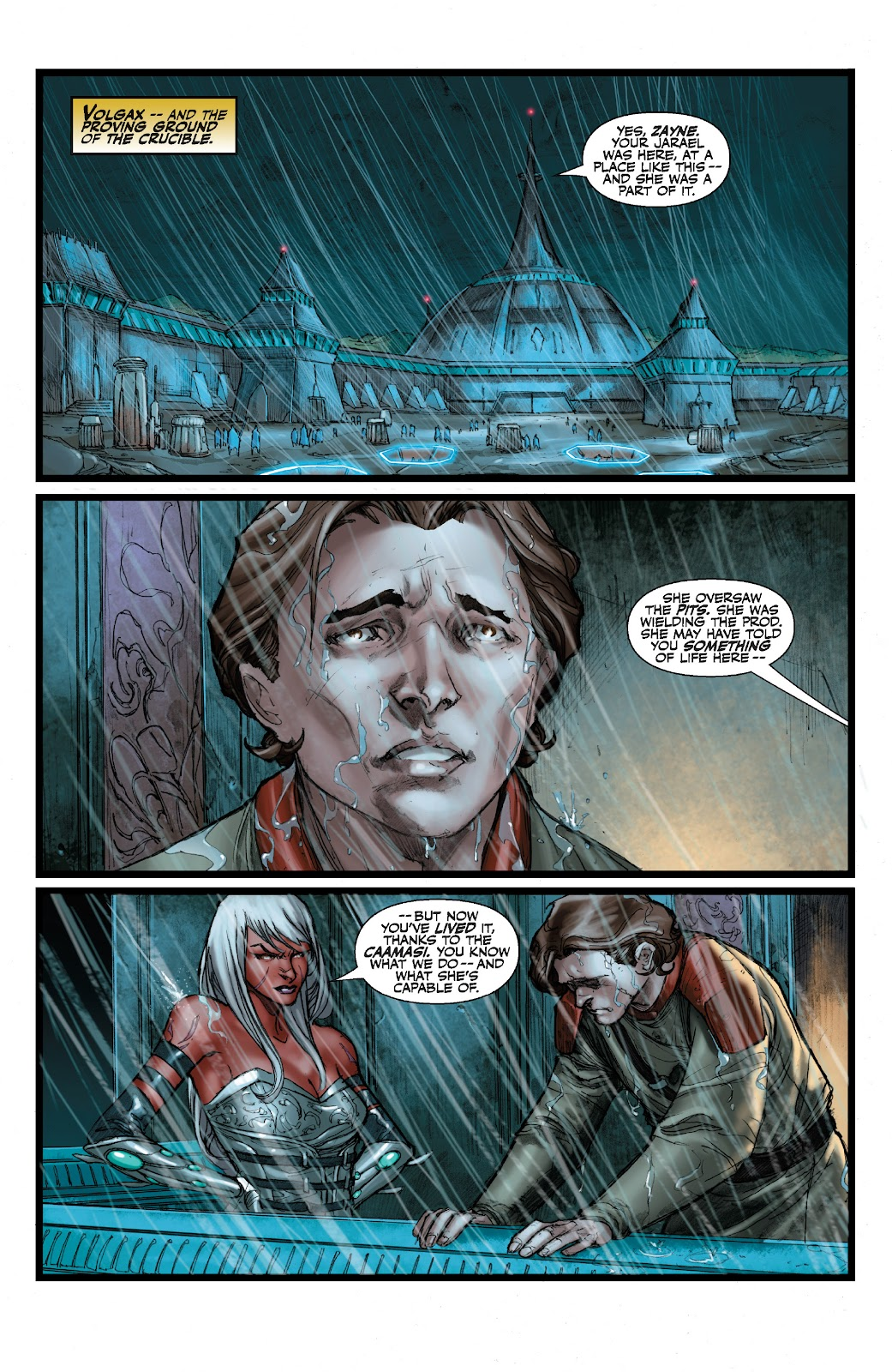 Read online Star Wars Legends: The Old Republic - Epic Collection comic -  Issue # TPB 3 (Part 2) - 93