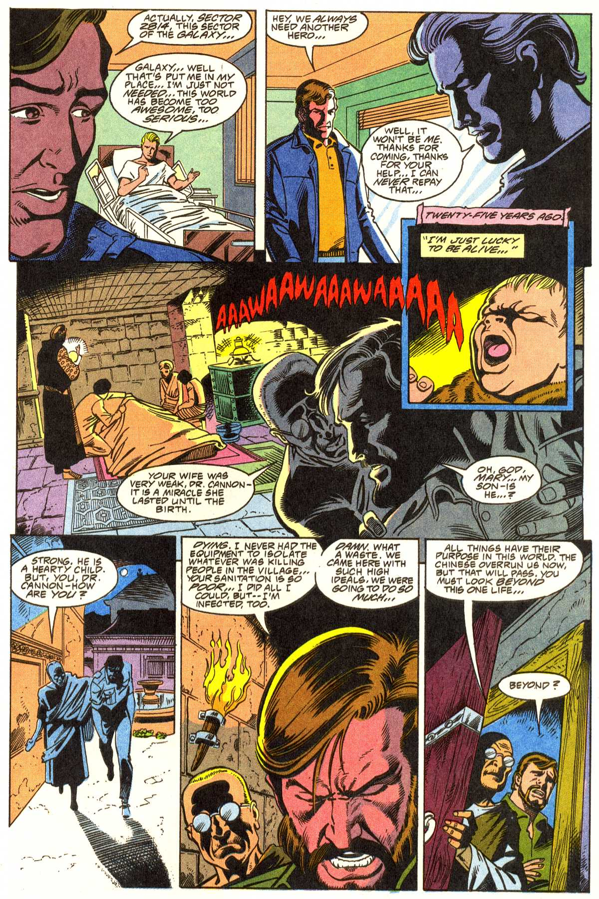 Read online Peter Cannon--Thunderbolt (1992) comic -  Issue #1 - 14