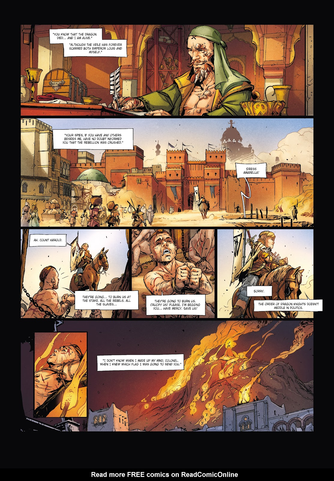 Read online Chronicles of the Dragon Knights comic -  Issue #20 - 46