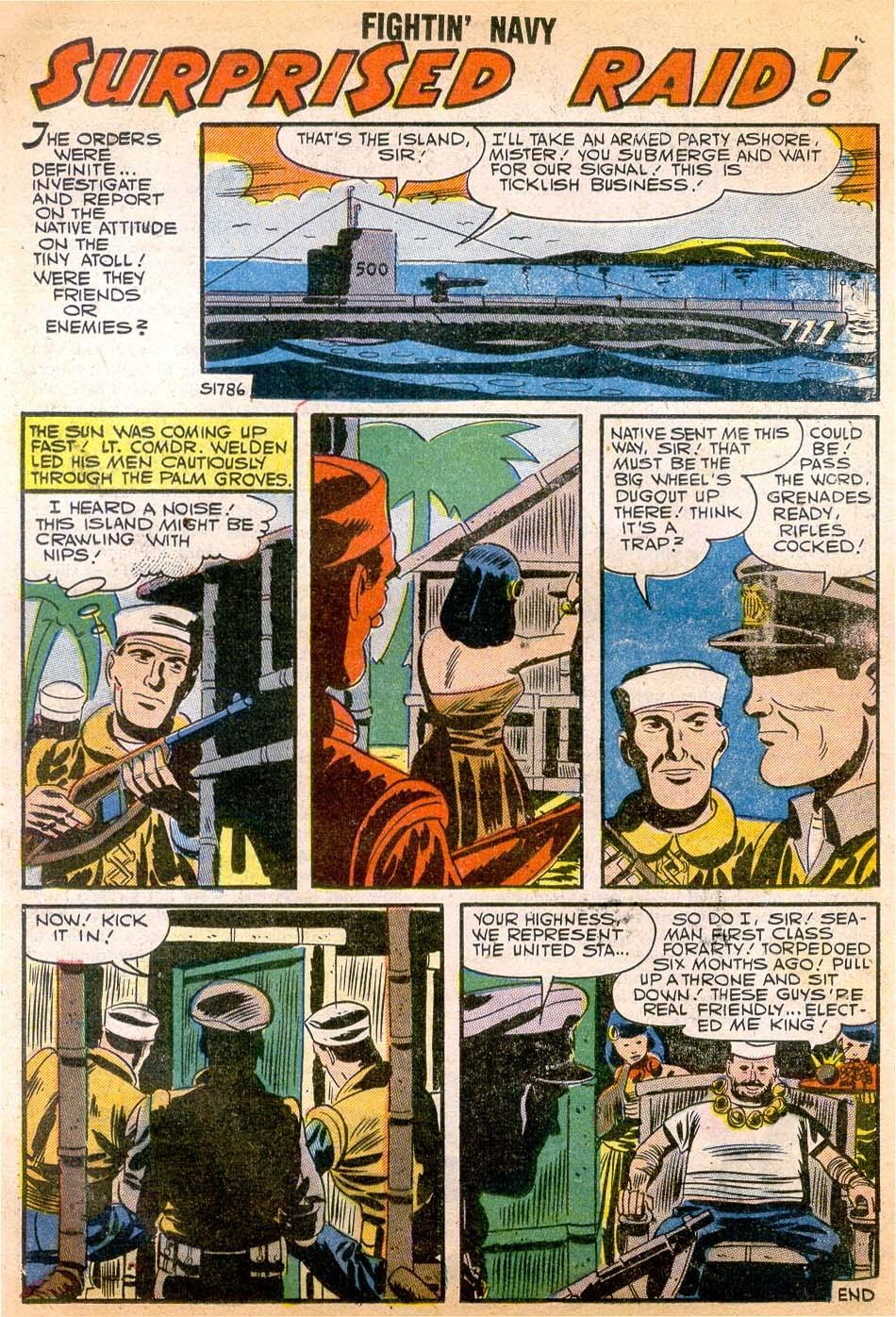 Read online Fightin' Navy comic -  Issue #79 - 20