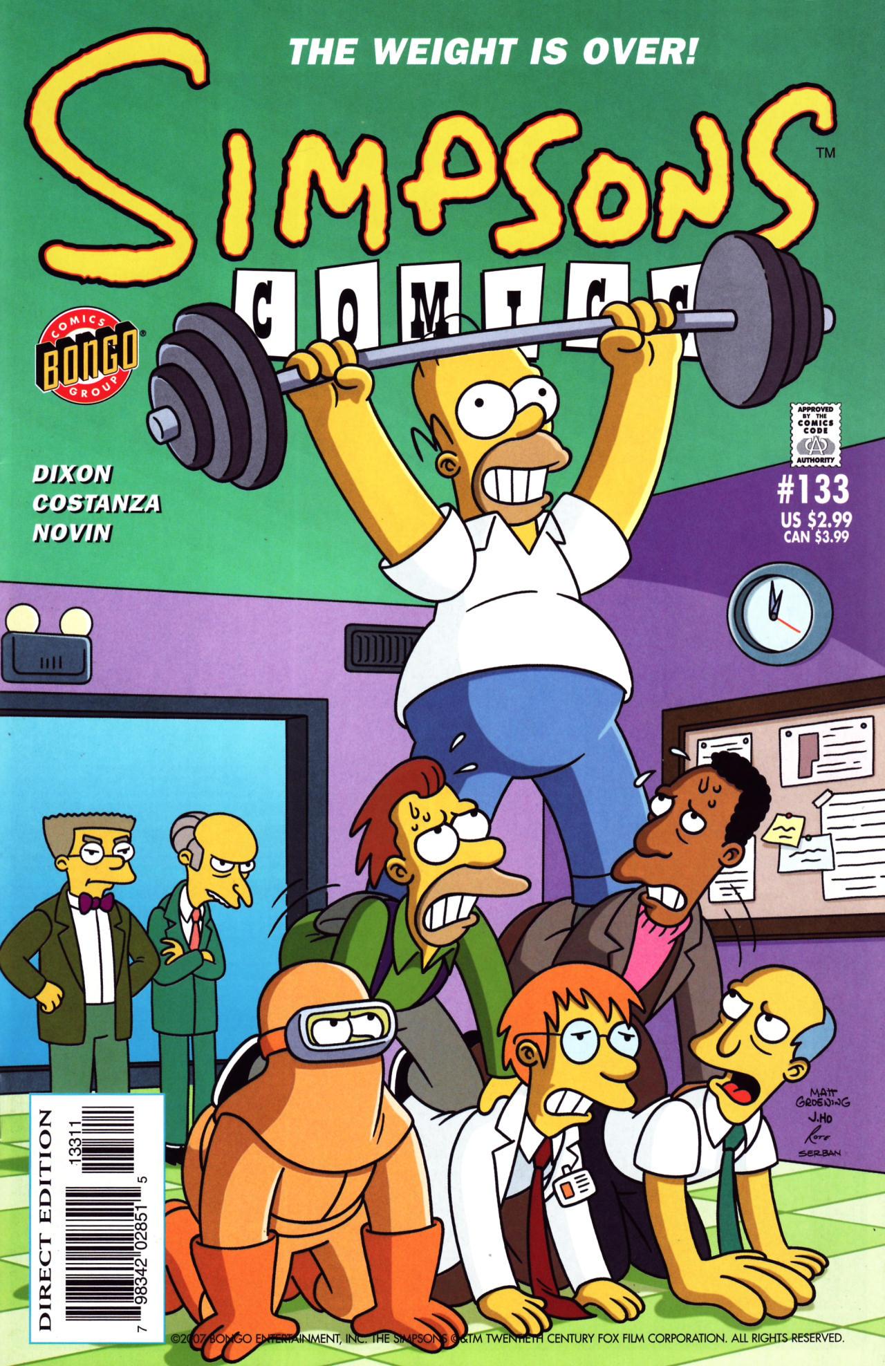 Read online Simpsons Comics comic -  Issue #133 - 1