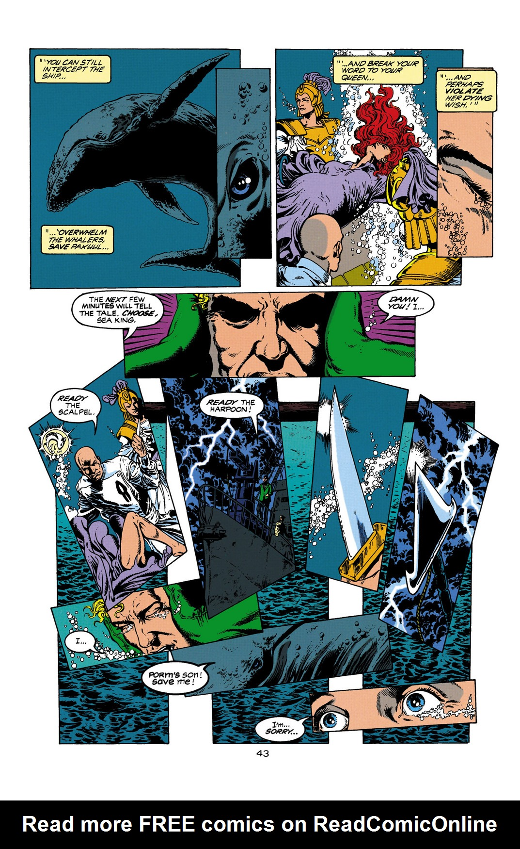 Read online Aquaman (1994) comic -  Issue #Aquaman (1994) _Annual 1 - 44