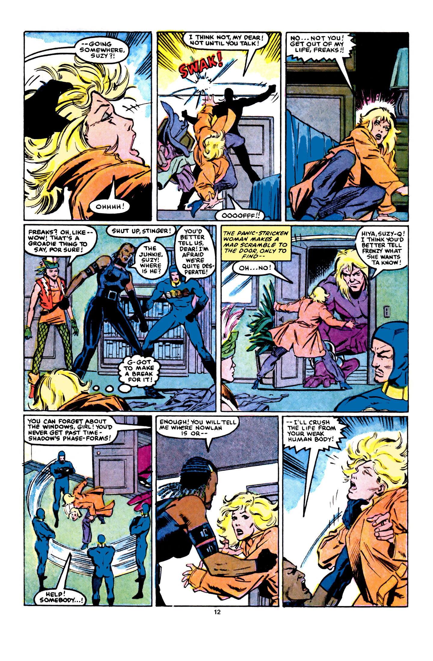 Read online X-Factor (1986) comic -  Issue #5 - 13