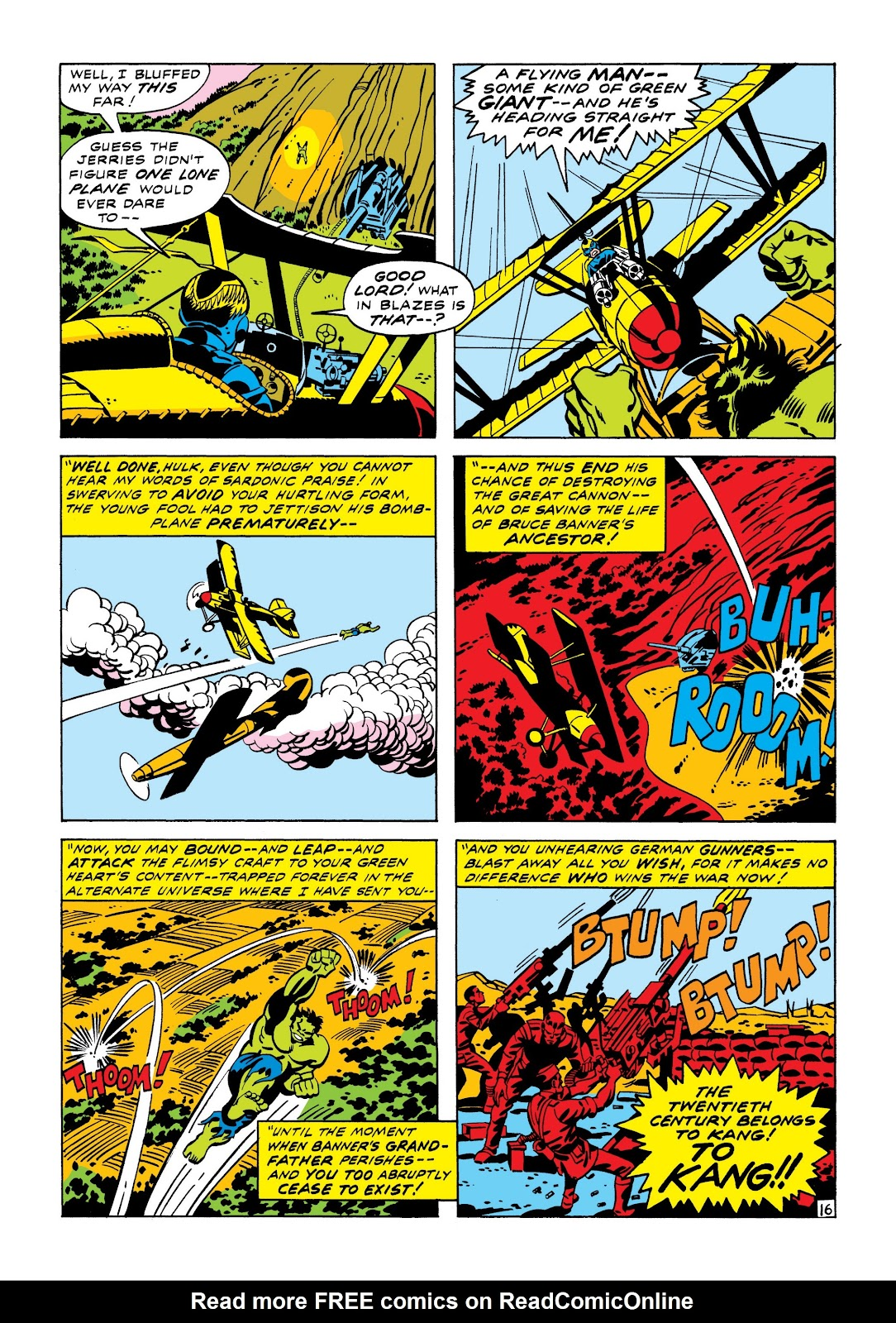 Read online Marvel Masterworks: The Incredible Hulk comic -  Issue # TPB 7 (Part 1) - 22
