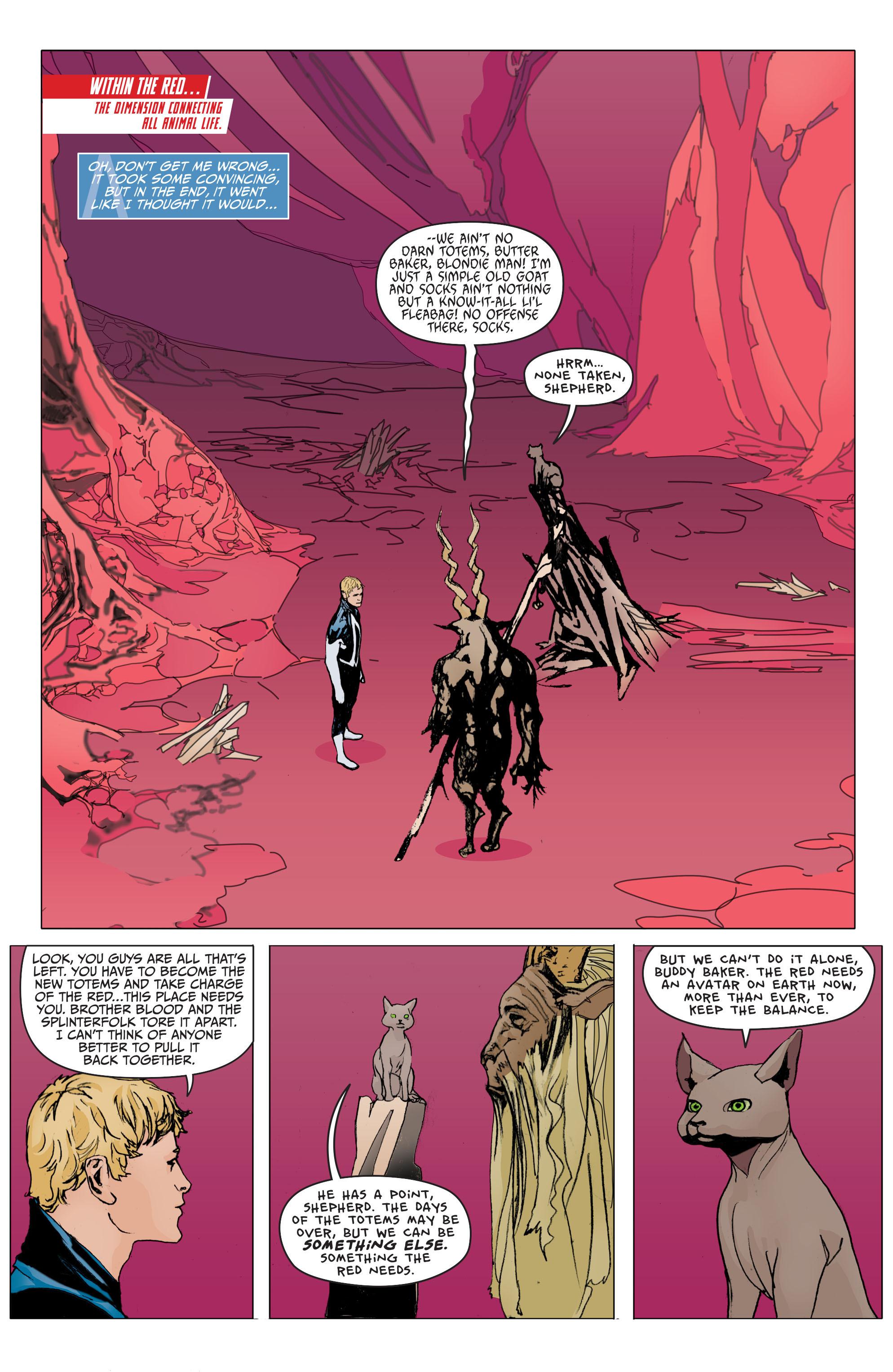 Read online Animal Man (2011) comic -  Issue #29 - 2