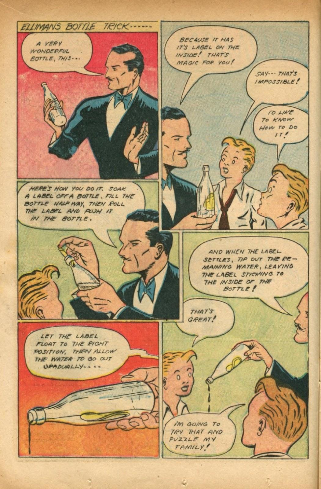 Read online Super-Magician Comics comic -  Issue #51 - 18