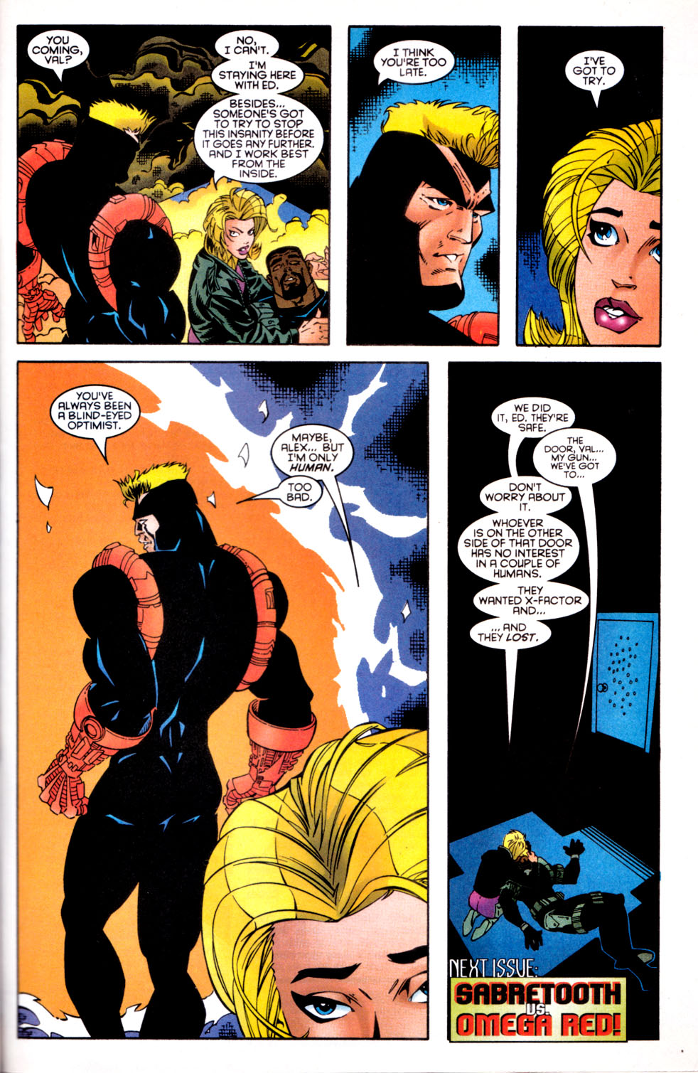 Read online X-Factor (1986) comic -  Issue #137 - 23