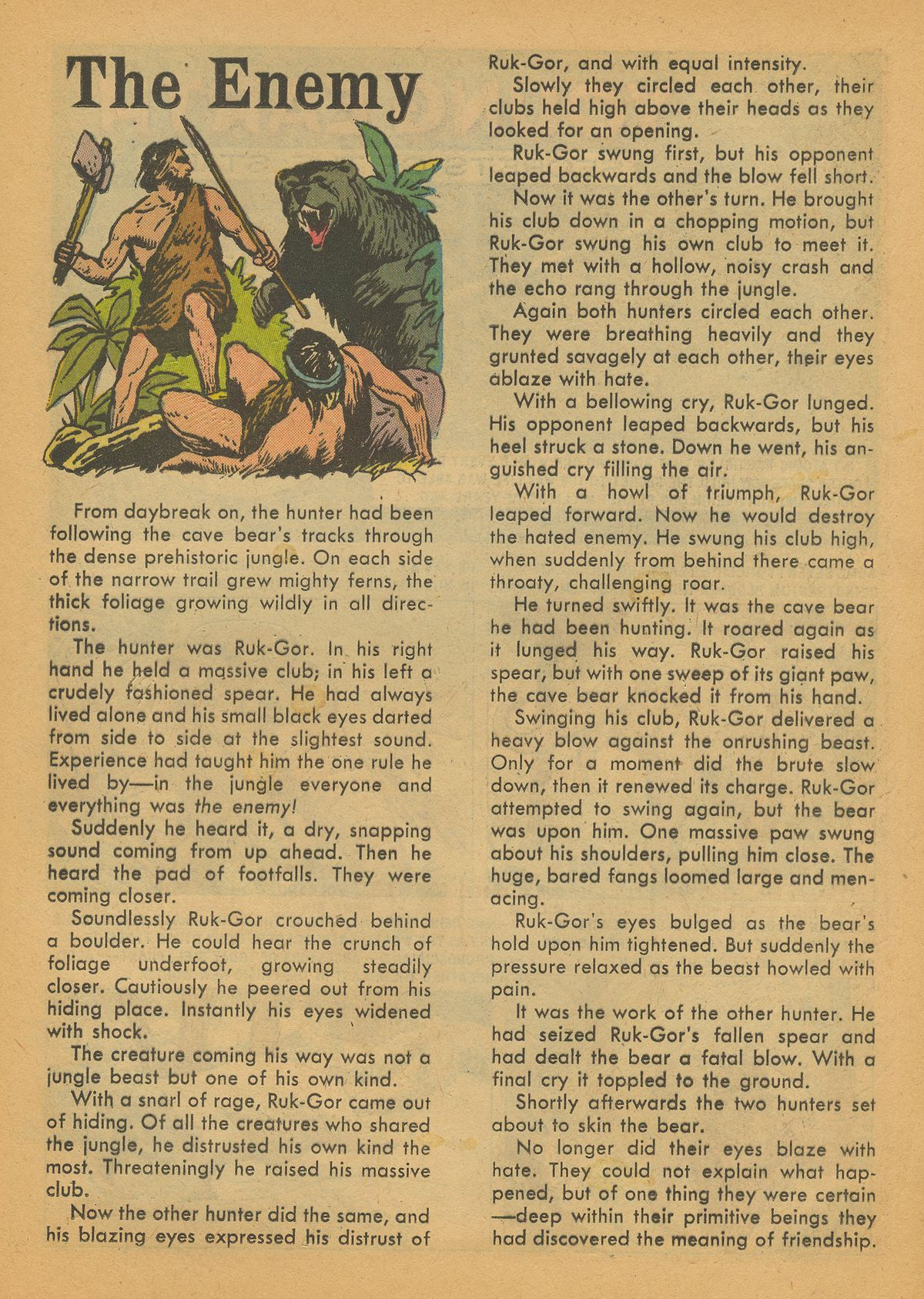 Read online Turok, Son of Stone comic -  Issue #14 - 17