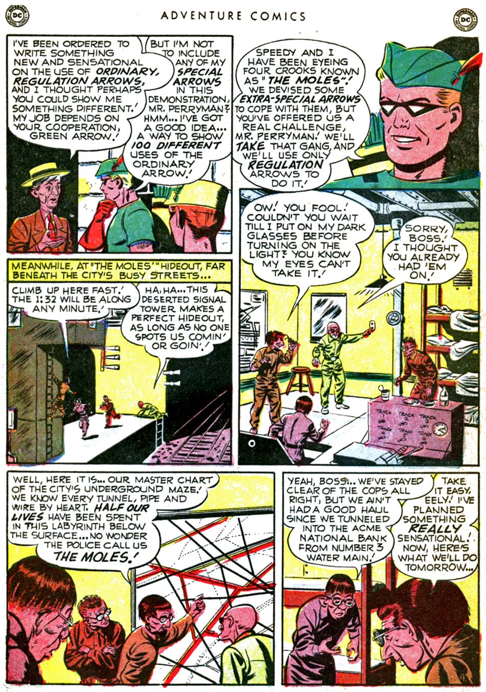 Read online Adventure Comics (1938) comic -  Issue #160 - 42