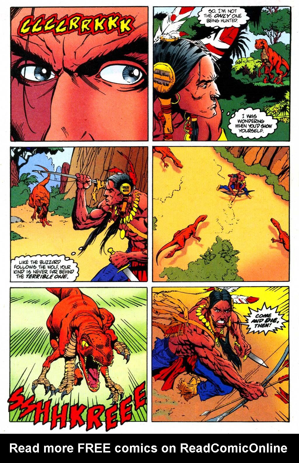 Read online Turok, Dinosaur Hunter (1993) comic -  Issue #47 - 11
