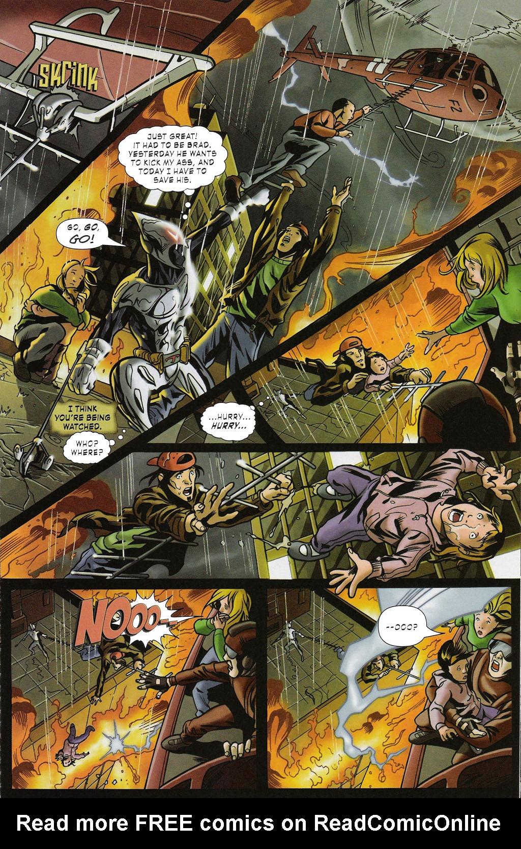Read online ShadowHawk (2005) comic -  Issue #2 - 13