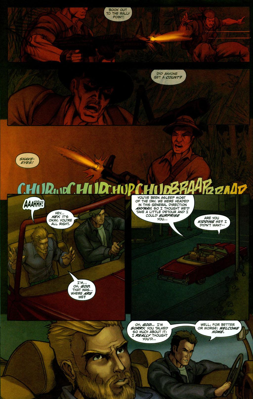 Read online Snake Eyes: Declassified comic -  Issue #2 - 10