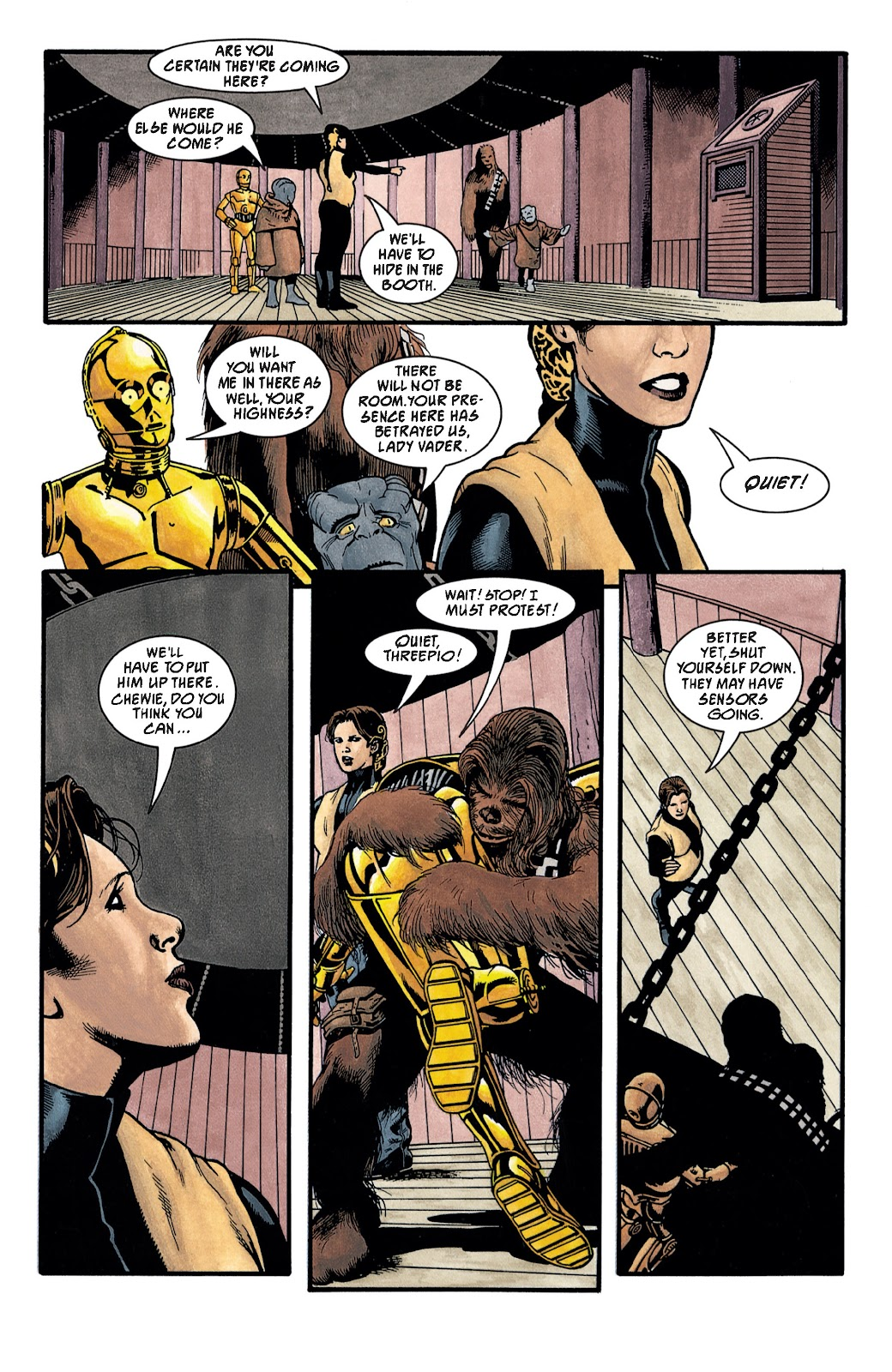 Read online Star Wars Legends: The New Republic - Epic Collection comic -  Issue # TPB 4 (Part 3) - 9