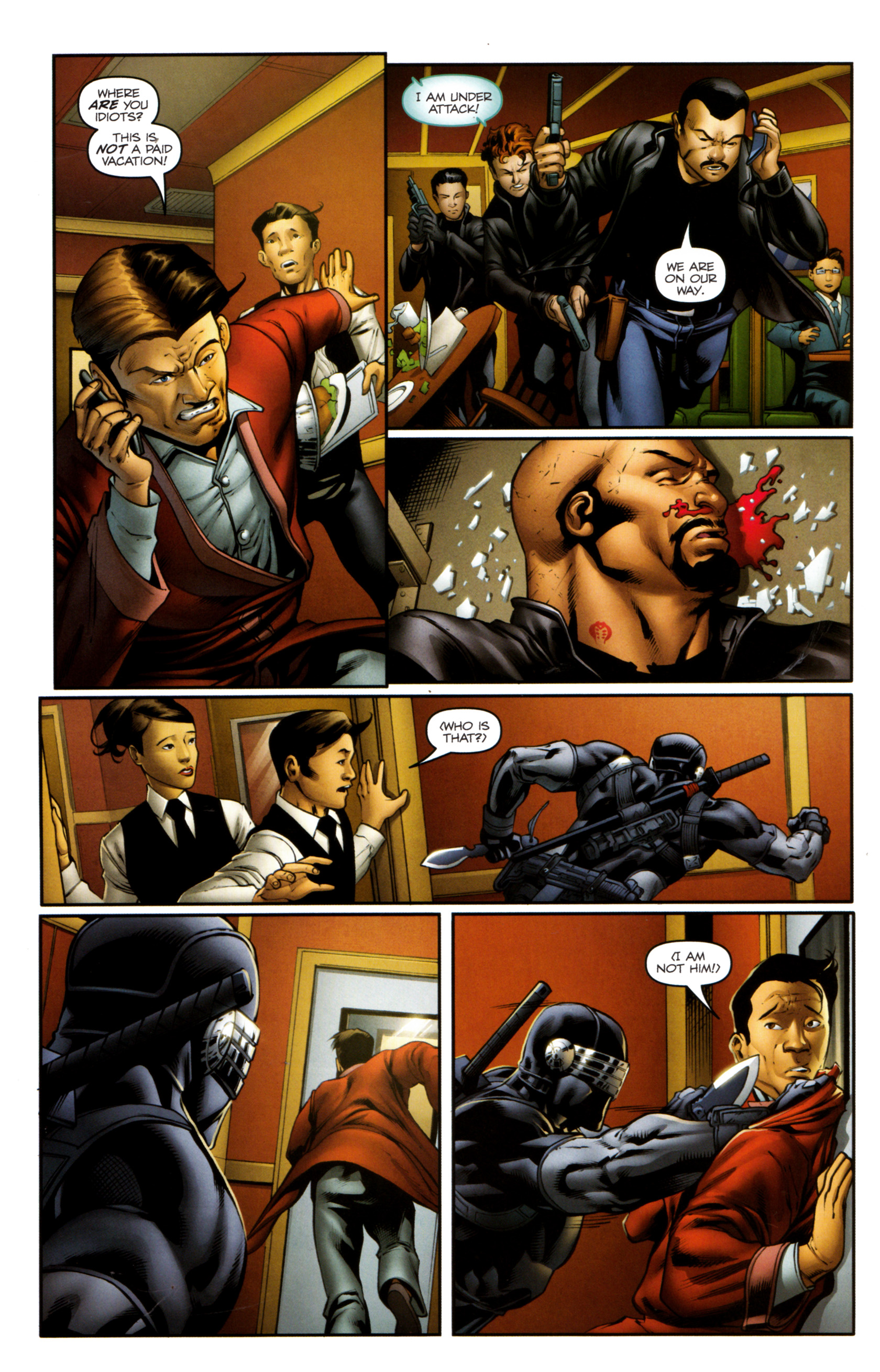 Read online Snake Eyes and Storm Shadow comic -  Issue #13 - 20
