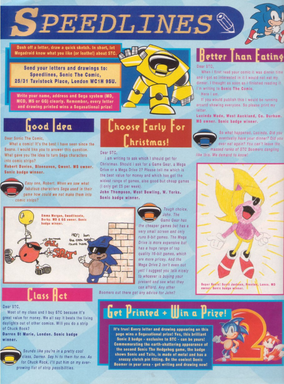 Read online Sonic the Comic comic -  Issue #7 - 30