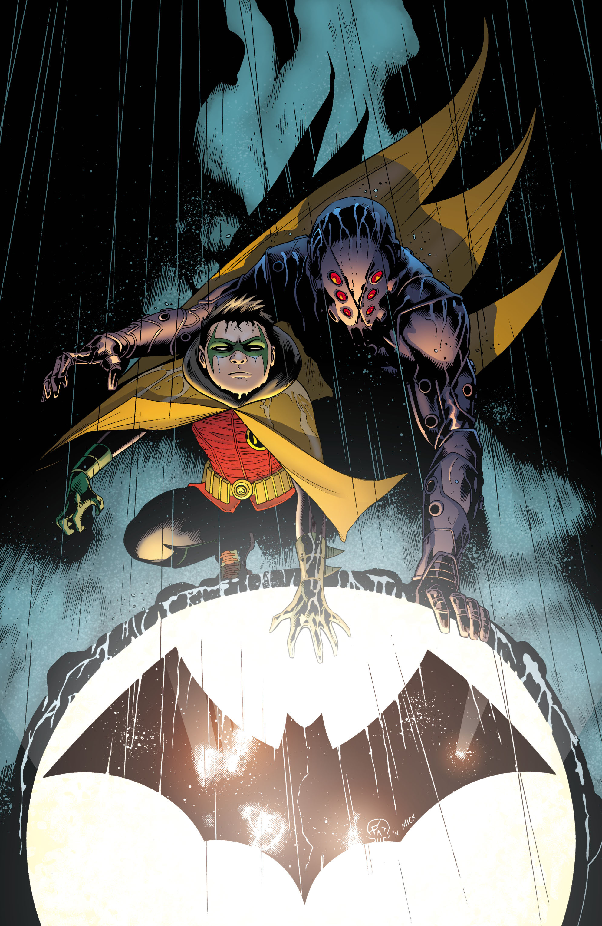 Read online Batman and Robin (2011) comic -  Issue # TPB 1 - 90