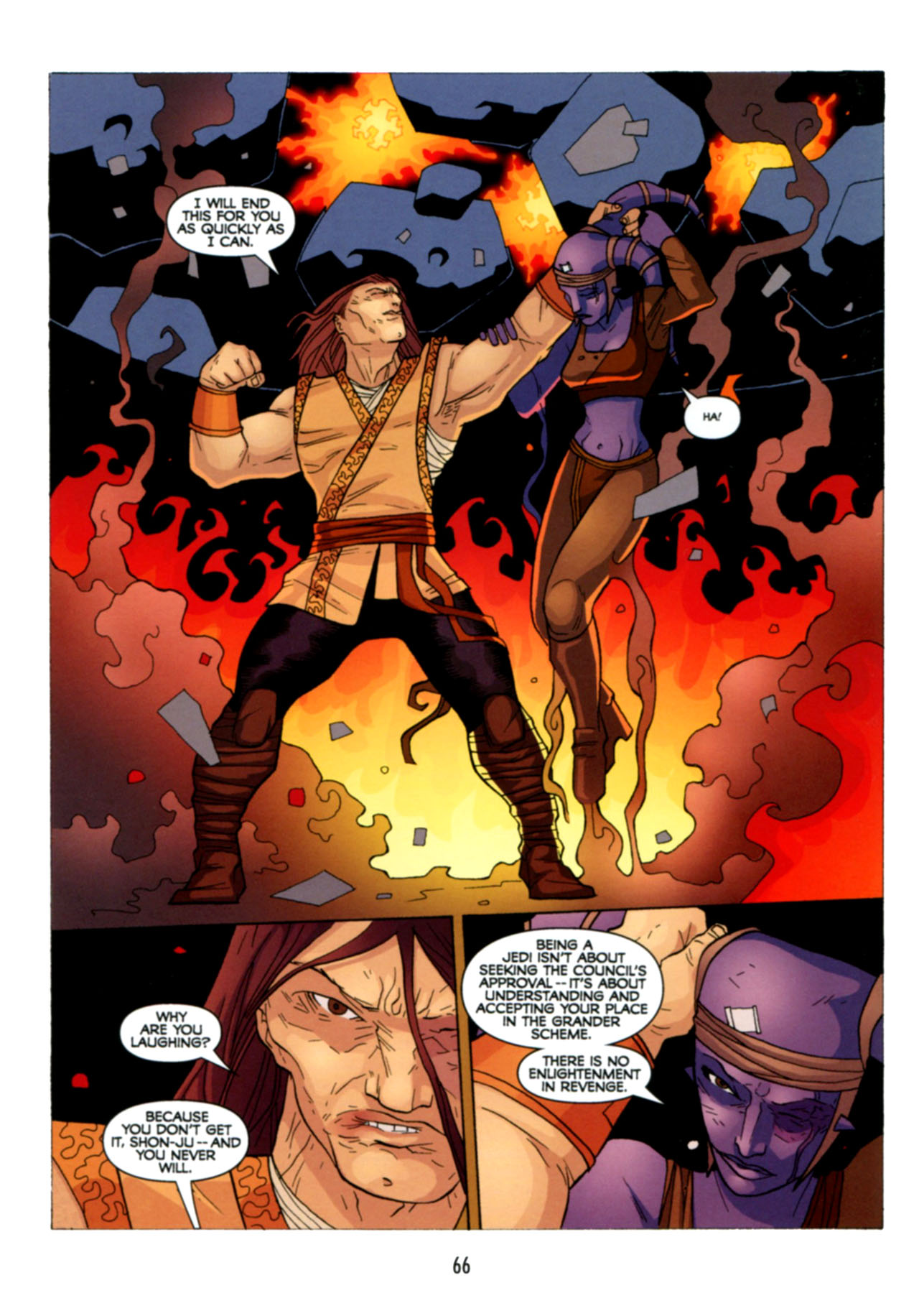 Read online Star Wars: The Clone Wars - Deadly Hands of Shon-Ju comic -  Issue # Full - 67