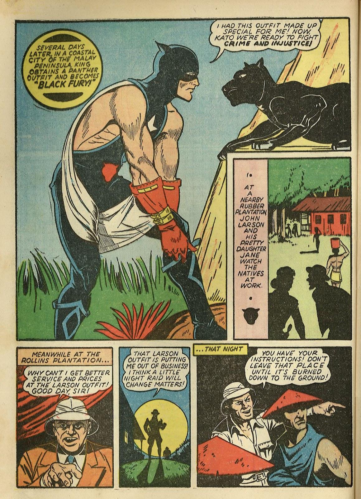 Read online Super-Magician Comics comic -  Issue #1 - 60