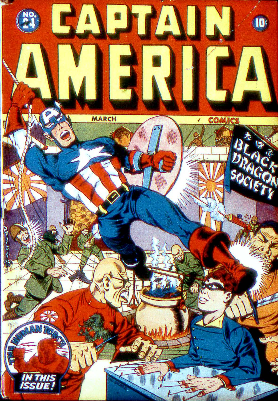 Captain America Comics 24 Page 1