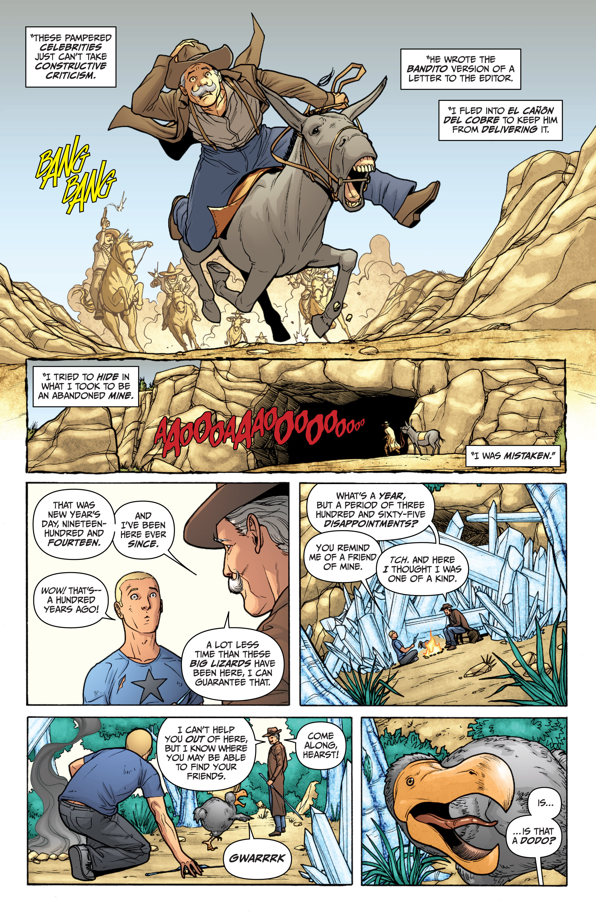 Read online Archer and Armstrong comic -  Issue #11 - 23