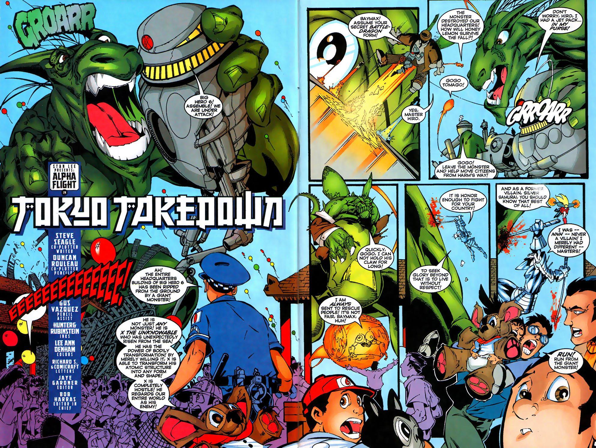Read online Alpha Flight (1997) comic -  Issue #17 - 4