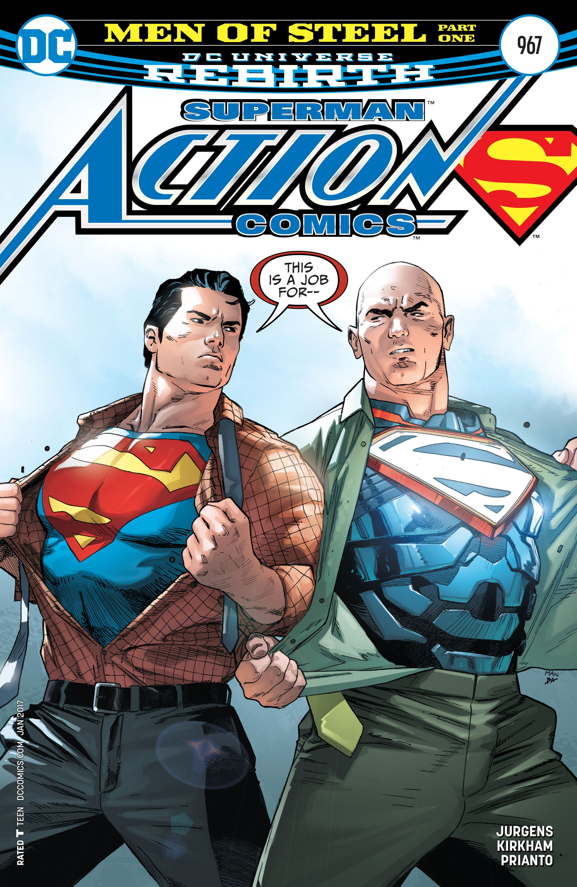 Action Comics (2016) 967 Page 1