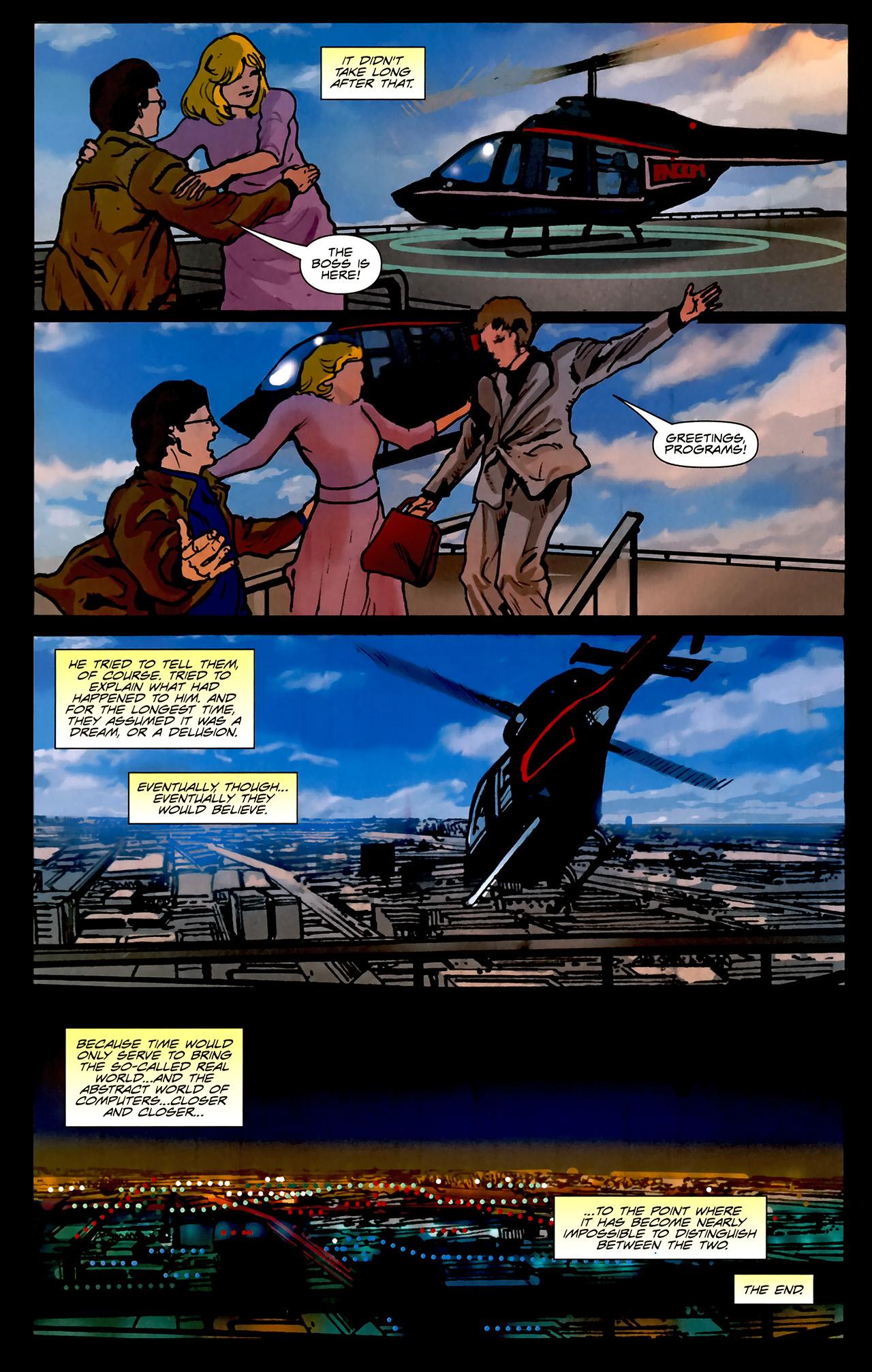 Read online TRON: Original Movie Adaptation comic -  Issue #2 - 35