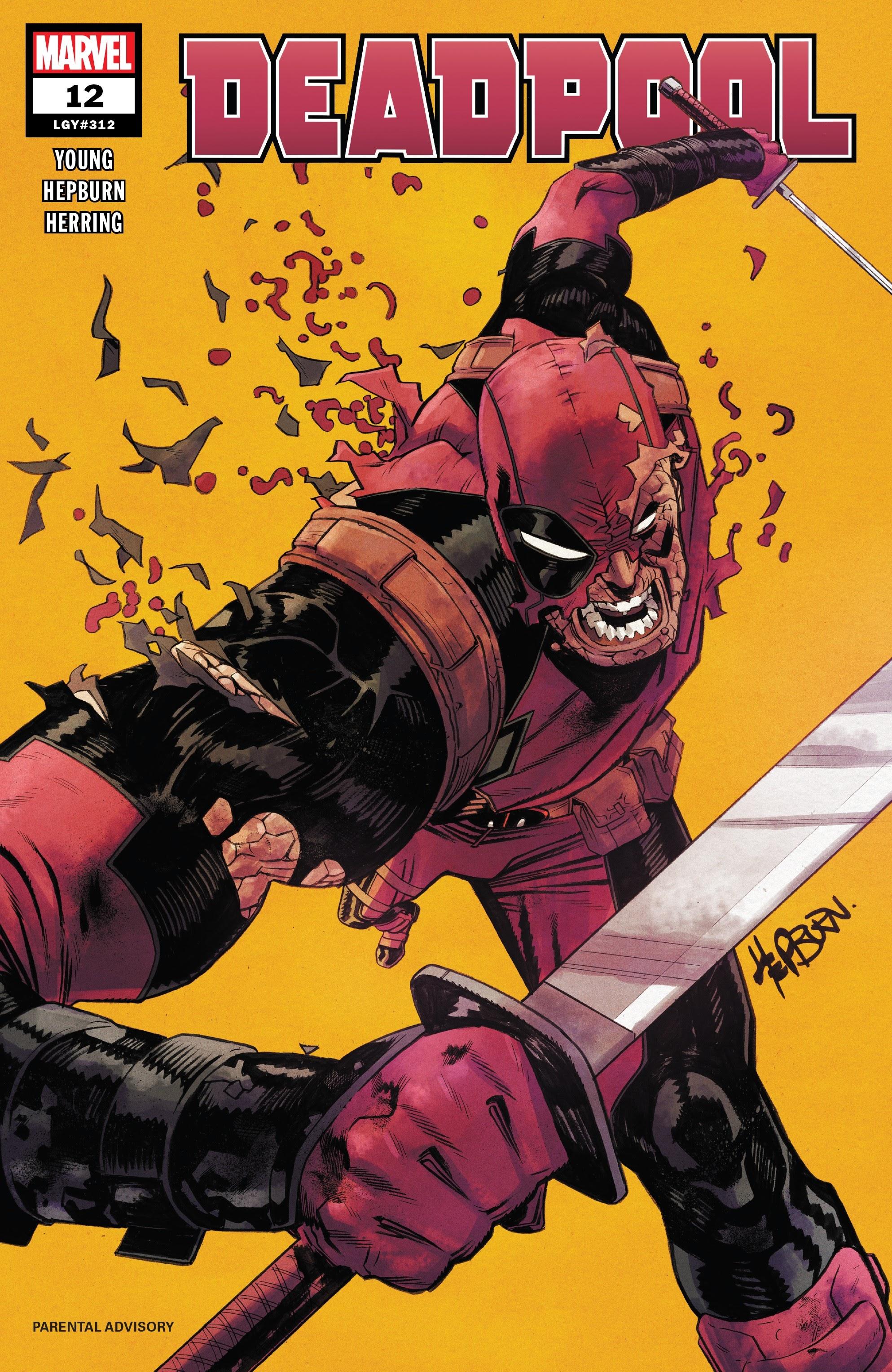 Deadpool (2018) 12 Page 1