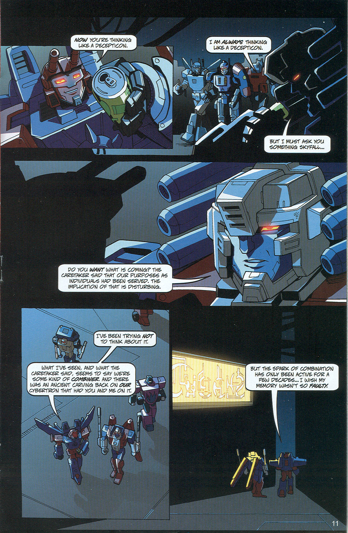 Read online Transformers: Collectors' Club comic -  Issue #22 - 11