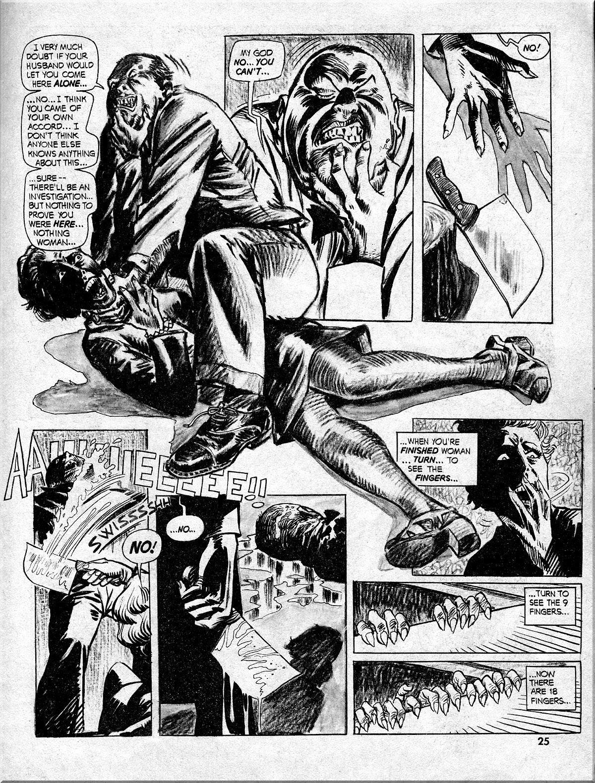 Nightmare (1970) issue 10 - Page 25
