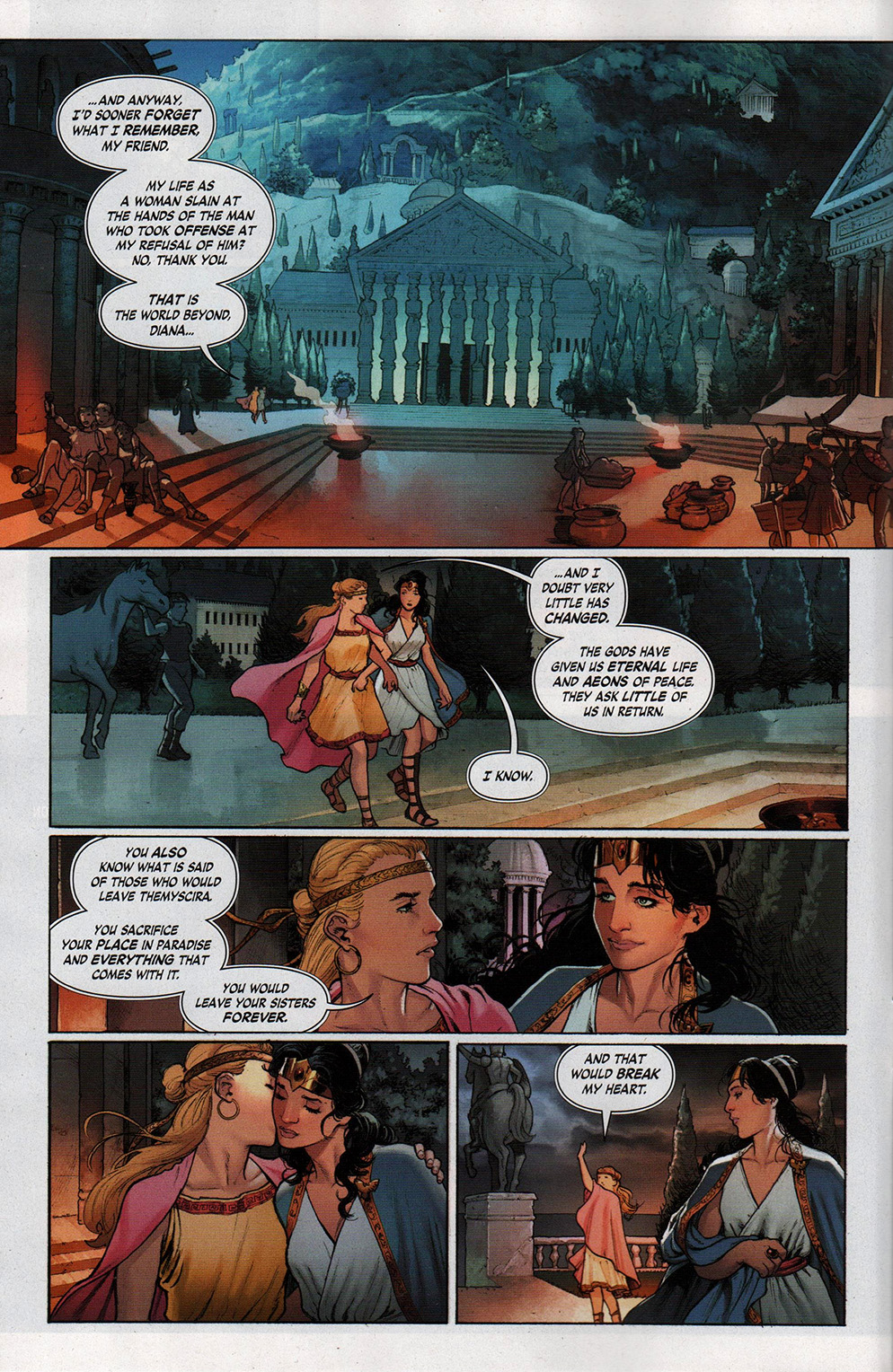 Read online Free Comic Book Day 2017 comic -  Issue # Wonder Woman 1 - 4
